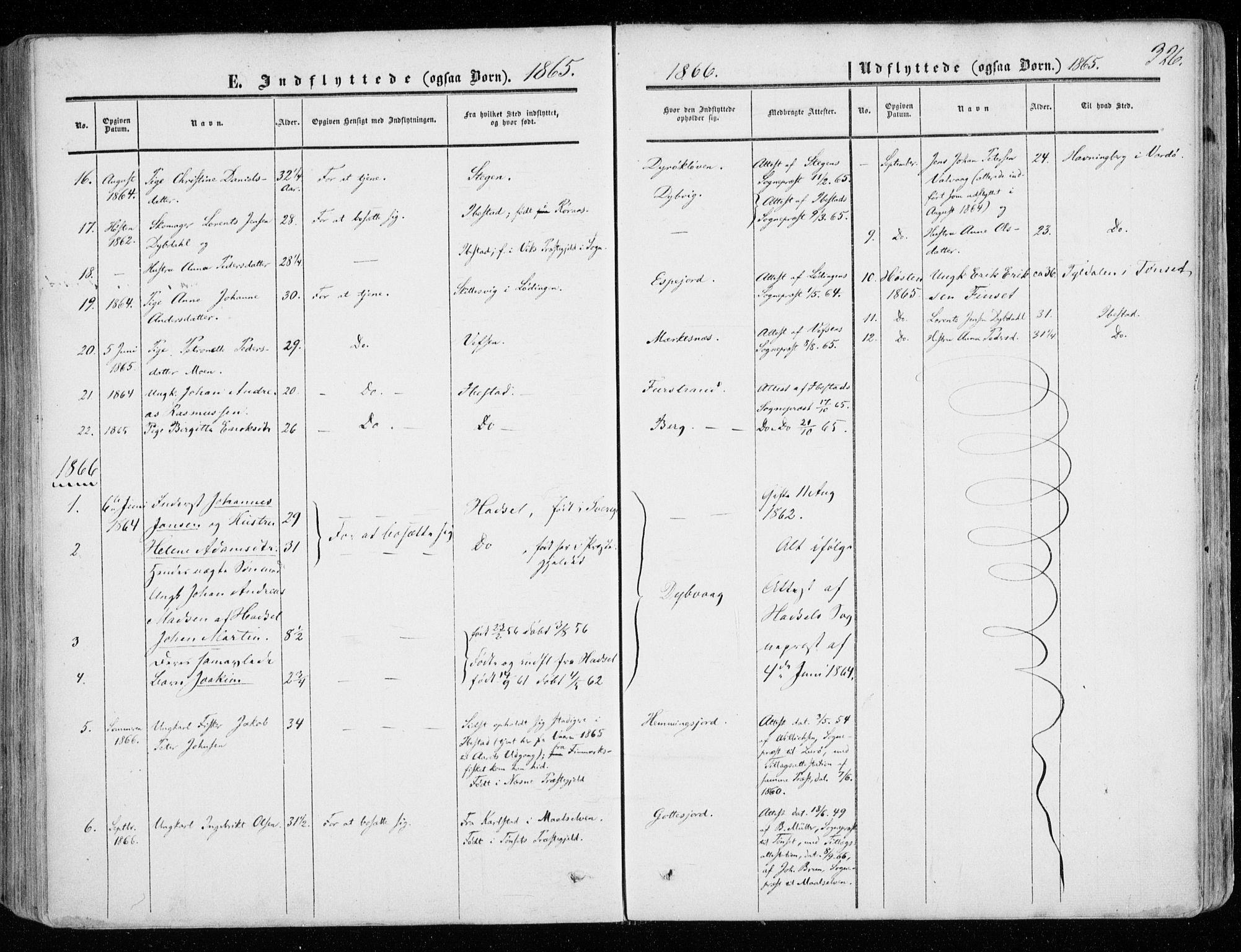 SATØ, Tranøy sokneprestkontor, I/Ia/Iaa/L0007kirke: Ministerialbok nr. 7, 1856-1866, s. 326