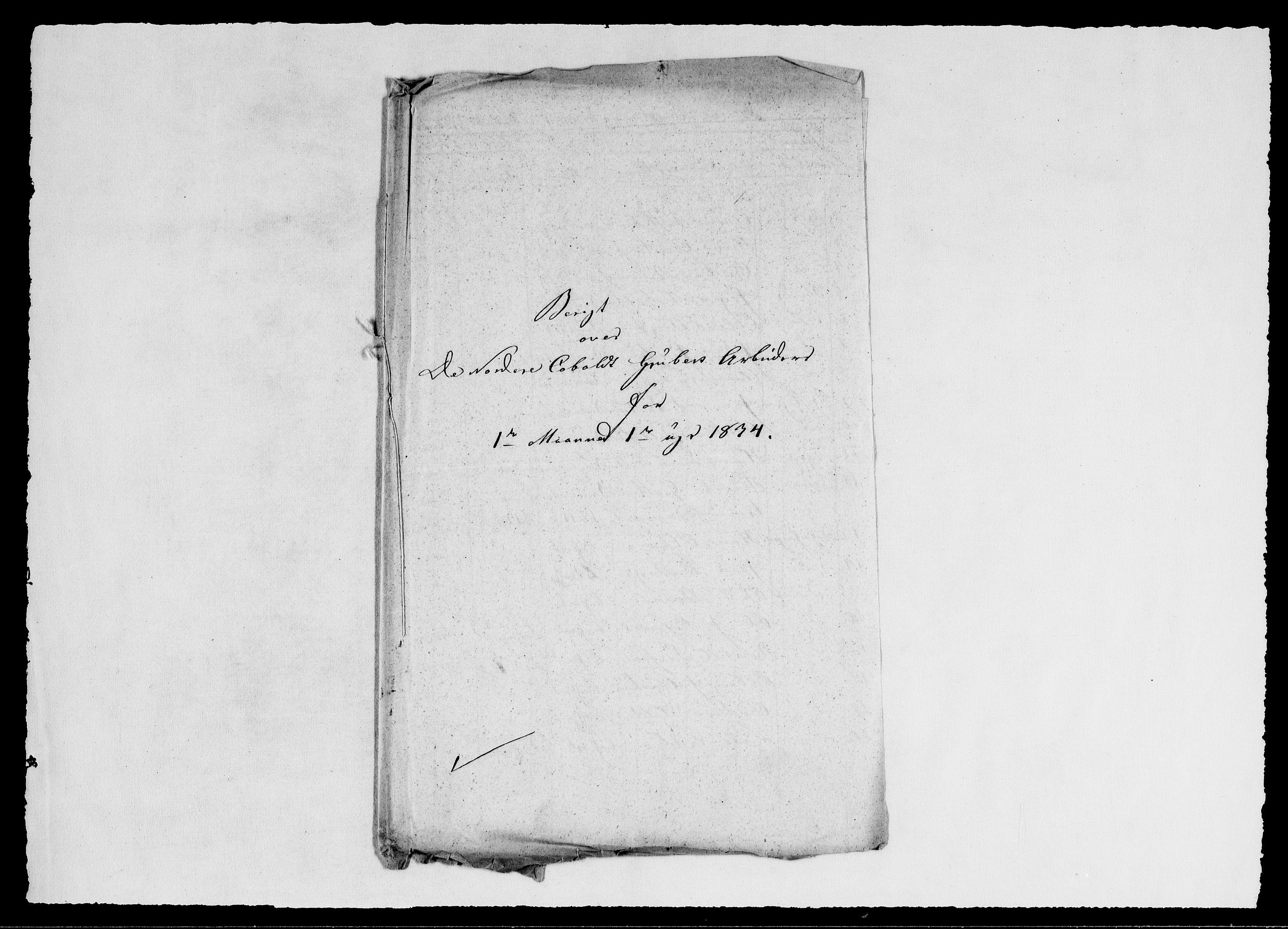 RA, Modums Blaafarveværk, G/Ge/L0344, 1834, s. 2