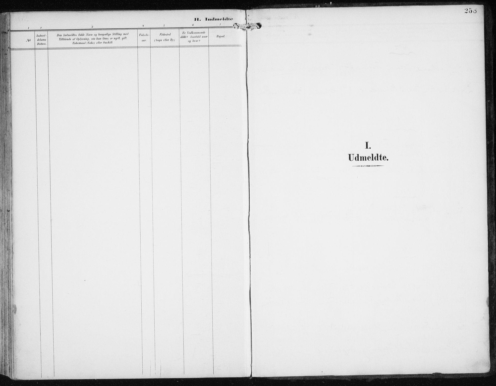 SATØ, Skjervøy sokneprestkontor, H/Ha/Haa/L0017kirke: Ministerialbok nr. 17, 1895-1911, s. 258