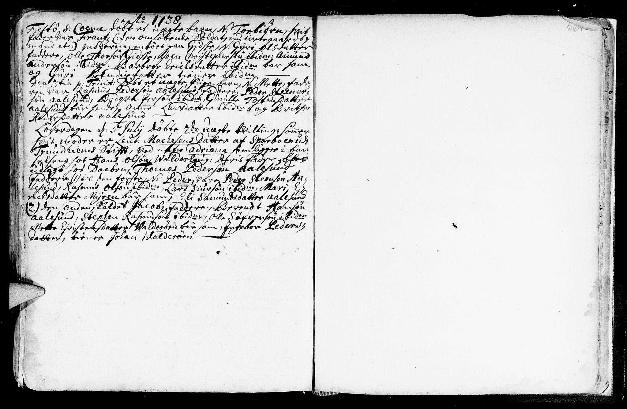 SAT, Ministerialprotokoller, klokkerbøker og fødselsregistre - Møre og Romsdal, 528/L0390: Ministerialbok nr. 528A01, 1698-1739, s. 560-561