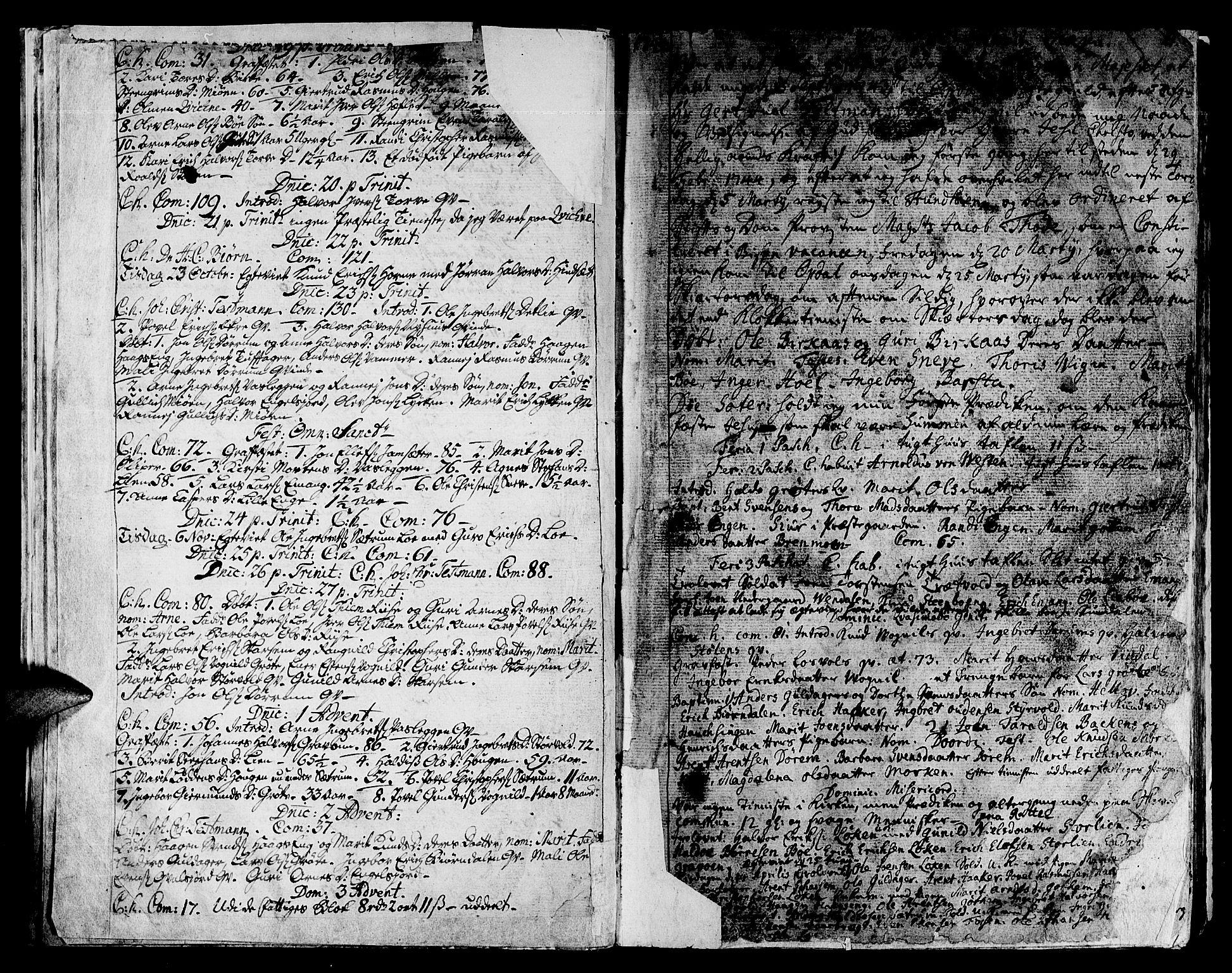 SAT, Ministerialprotokoller, klokkerbøker og fødselsregistre - Sør-Trøndelag, 678/L0891: Ministerialbok nr. 678A01, 1739-1780, s. 21