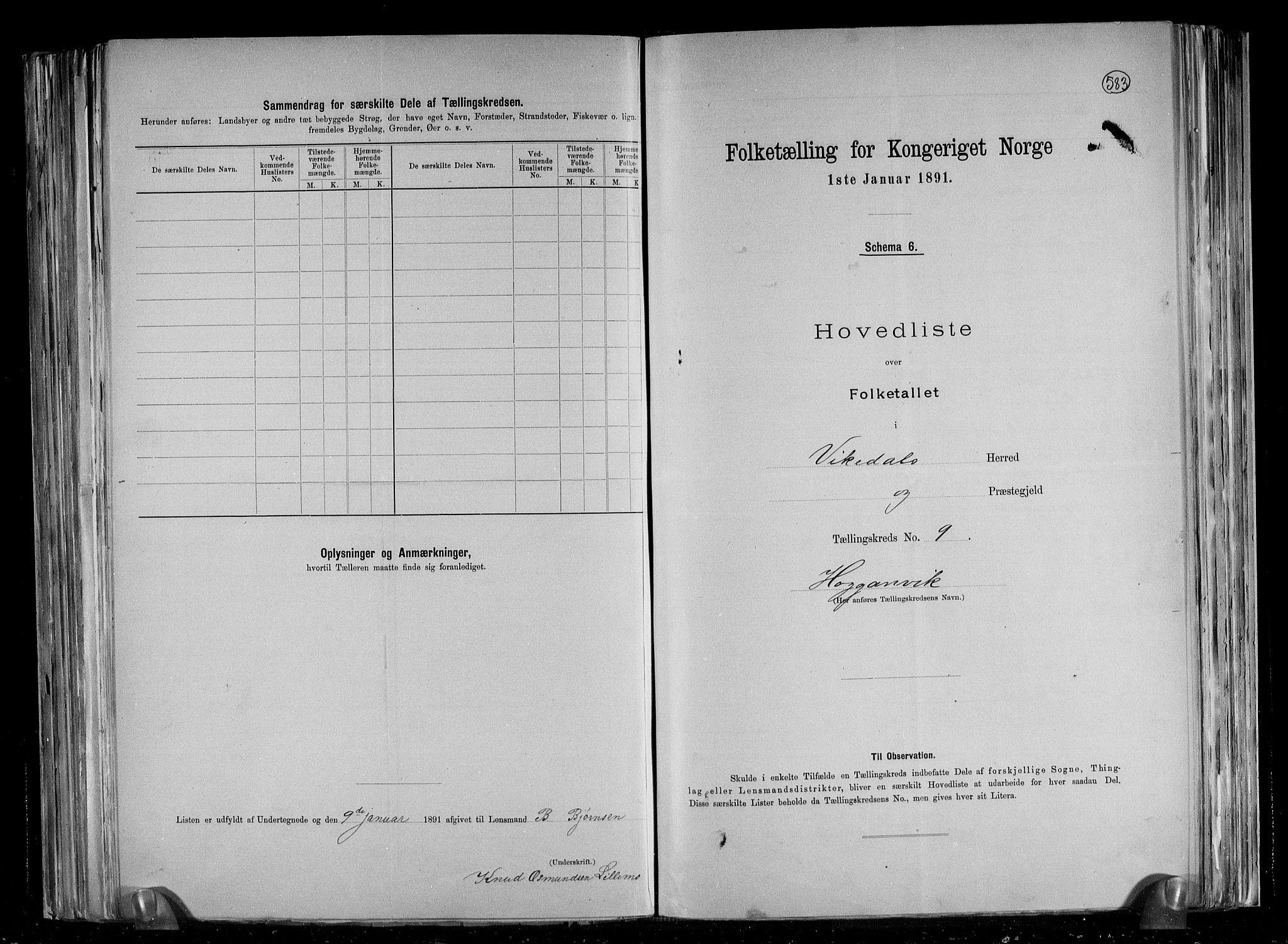 RA, Folketelling 1891 for 1157 Vikedal herred, 1891, s. 21