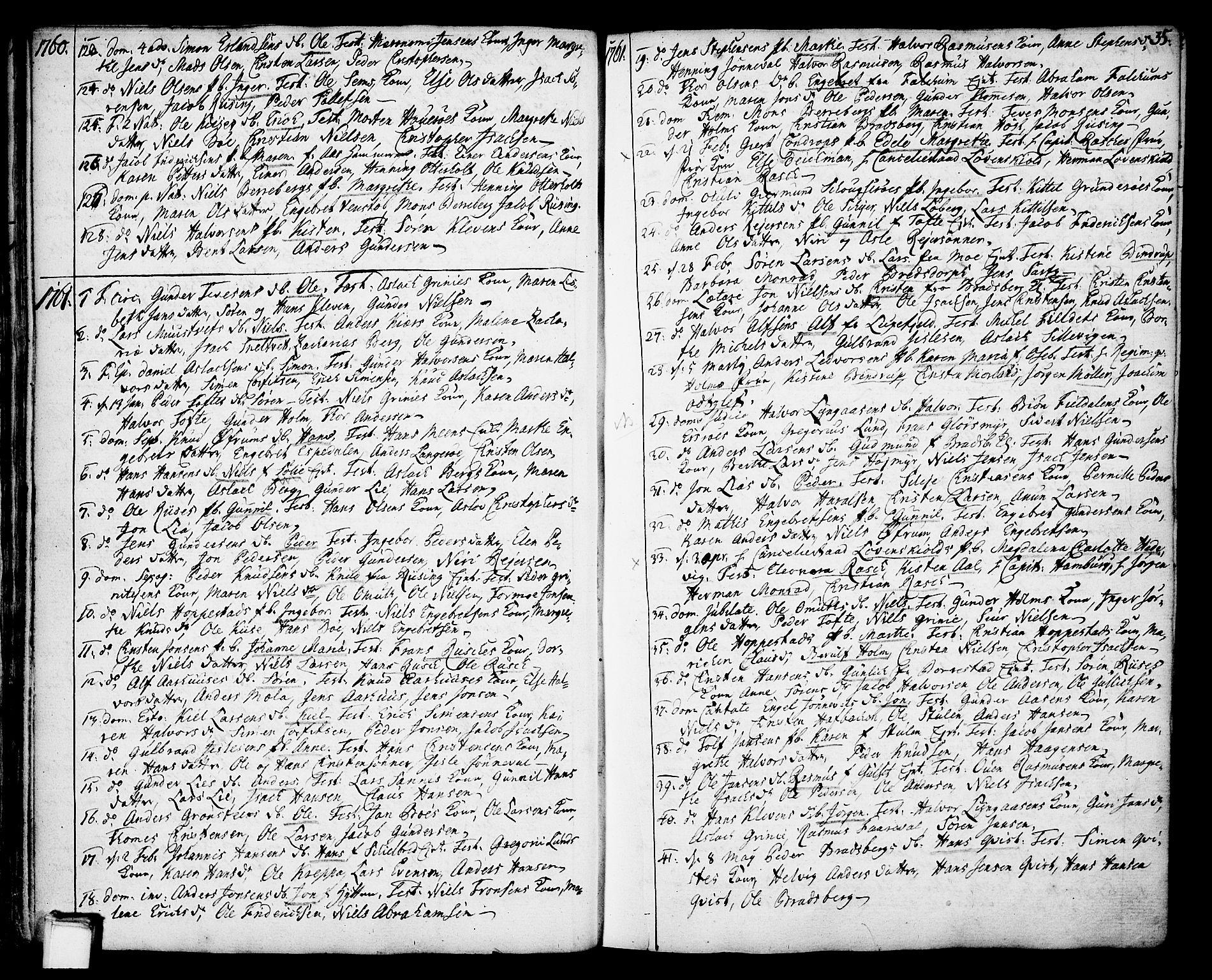 SAKO, Gjerpen kirkebøker, F/Fa/L0002: Ministerialbok nr. 2, 1747-1795, s. 35