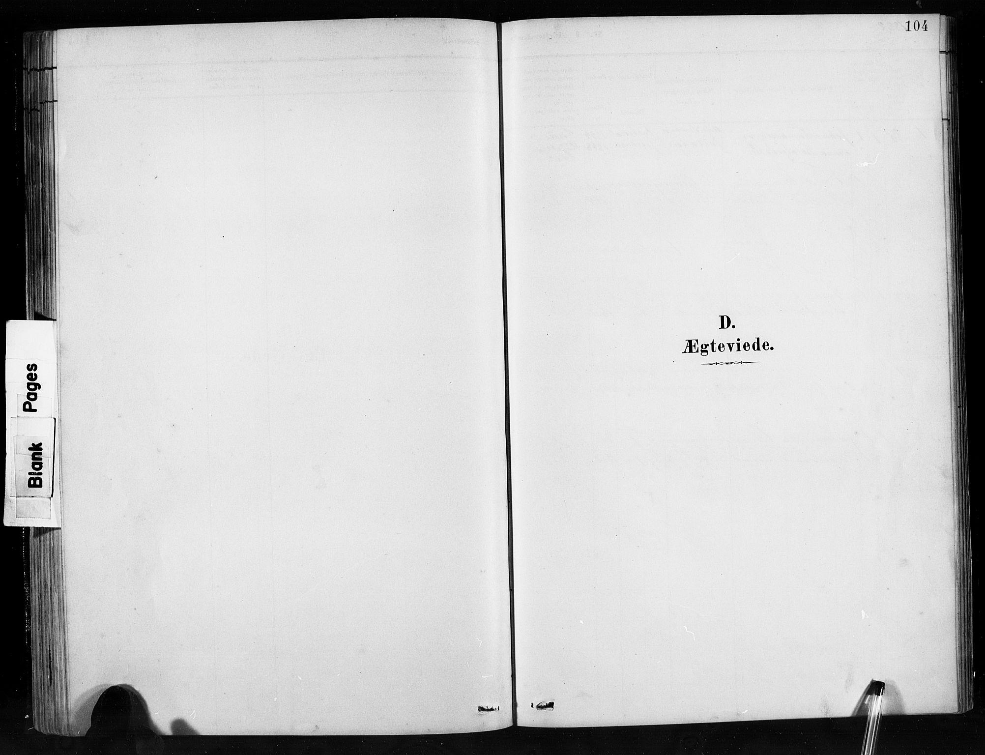 SAB, Jostedal Sokneprestembete, H/Hab/Habb/L0001: Klokkerbok nr. B 1, 1882-1921, s. 104