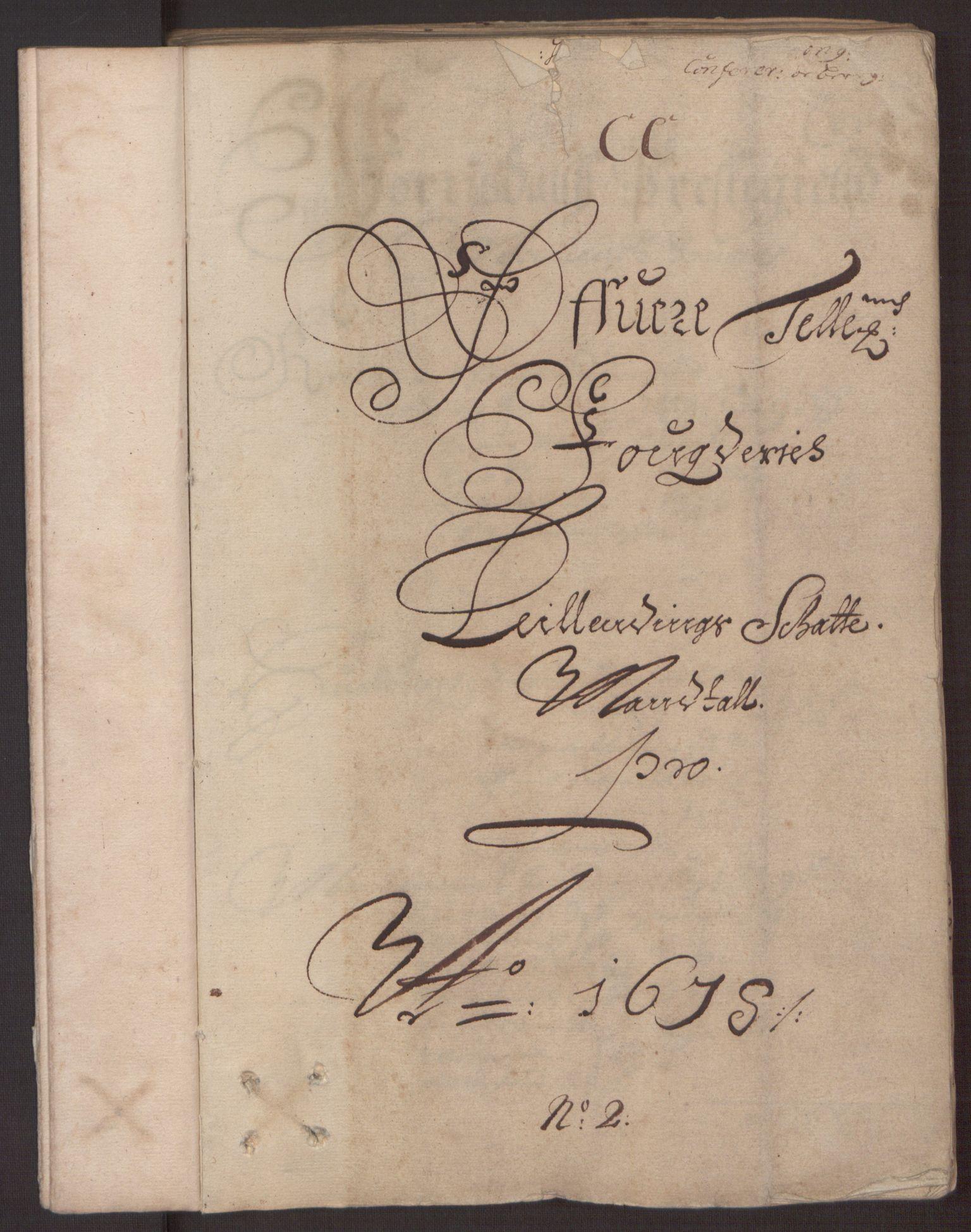 RA, Rentekammeret inntil 1814, Reviderte regnskaper, Fogderegnskap, R35/L2070: Fogderegnskap Øvre og Nedre Telemark, 1678, s. 31