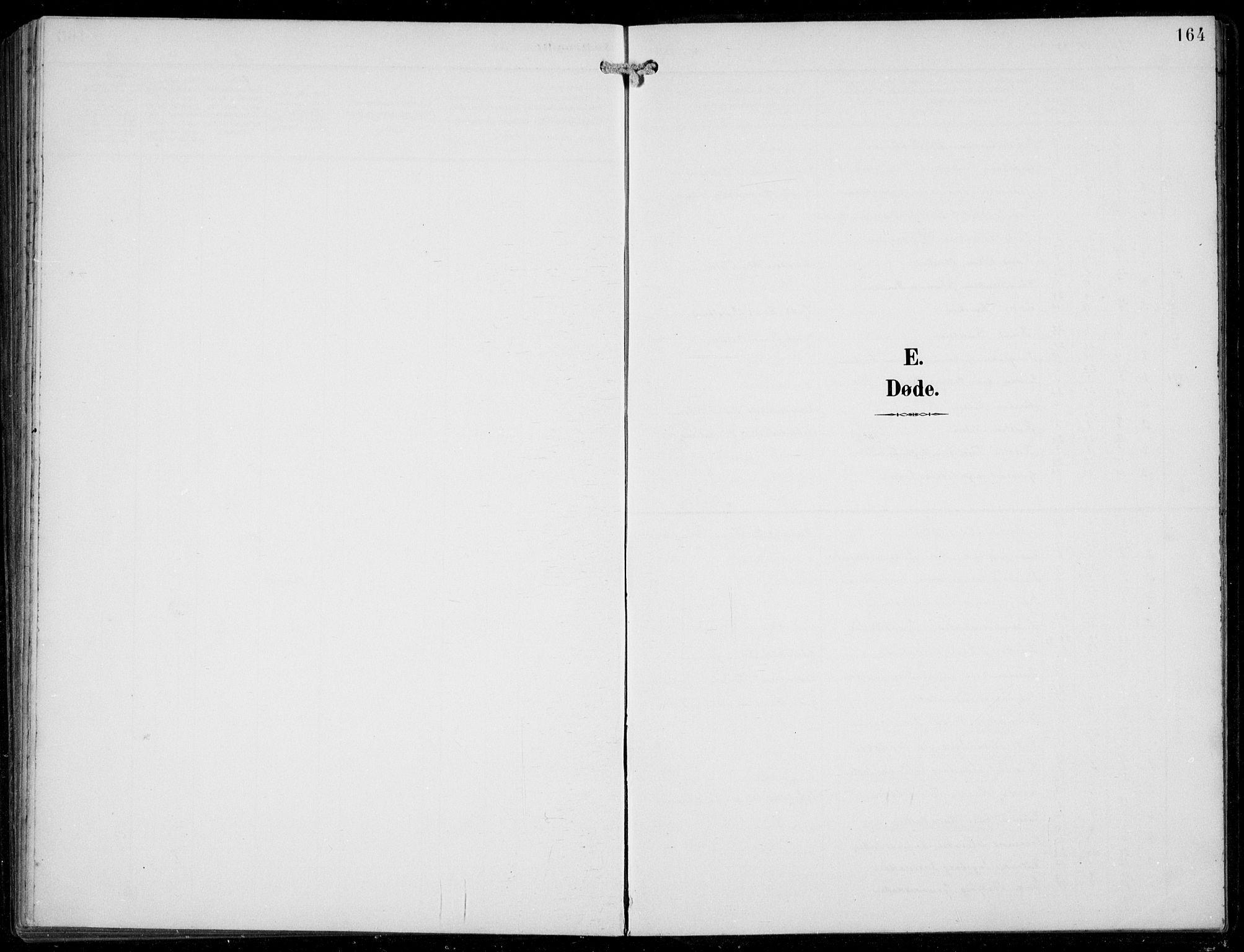 SAB, Aurland sokneprestembete, H/Hb/Hba/L0003: Klokkerbok nr. A 3, 1896-1939, s. 164