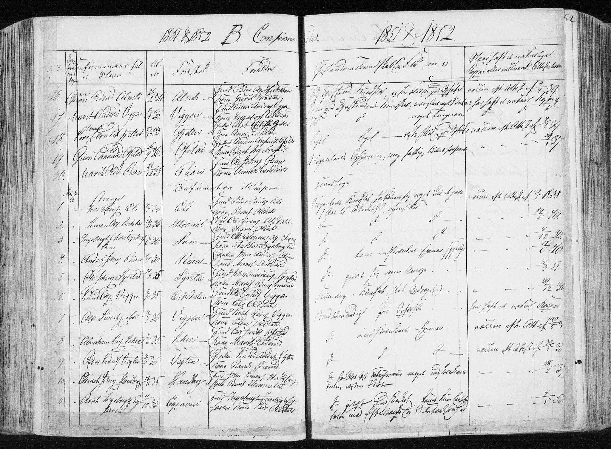 SAT, Ministerialprotokoller, klokkerbøker og fødselsregistre - Sør-Trøndelag, 665/L0771: Ministerialbok nr. 665A06, 1830-1856
