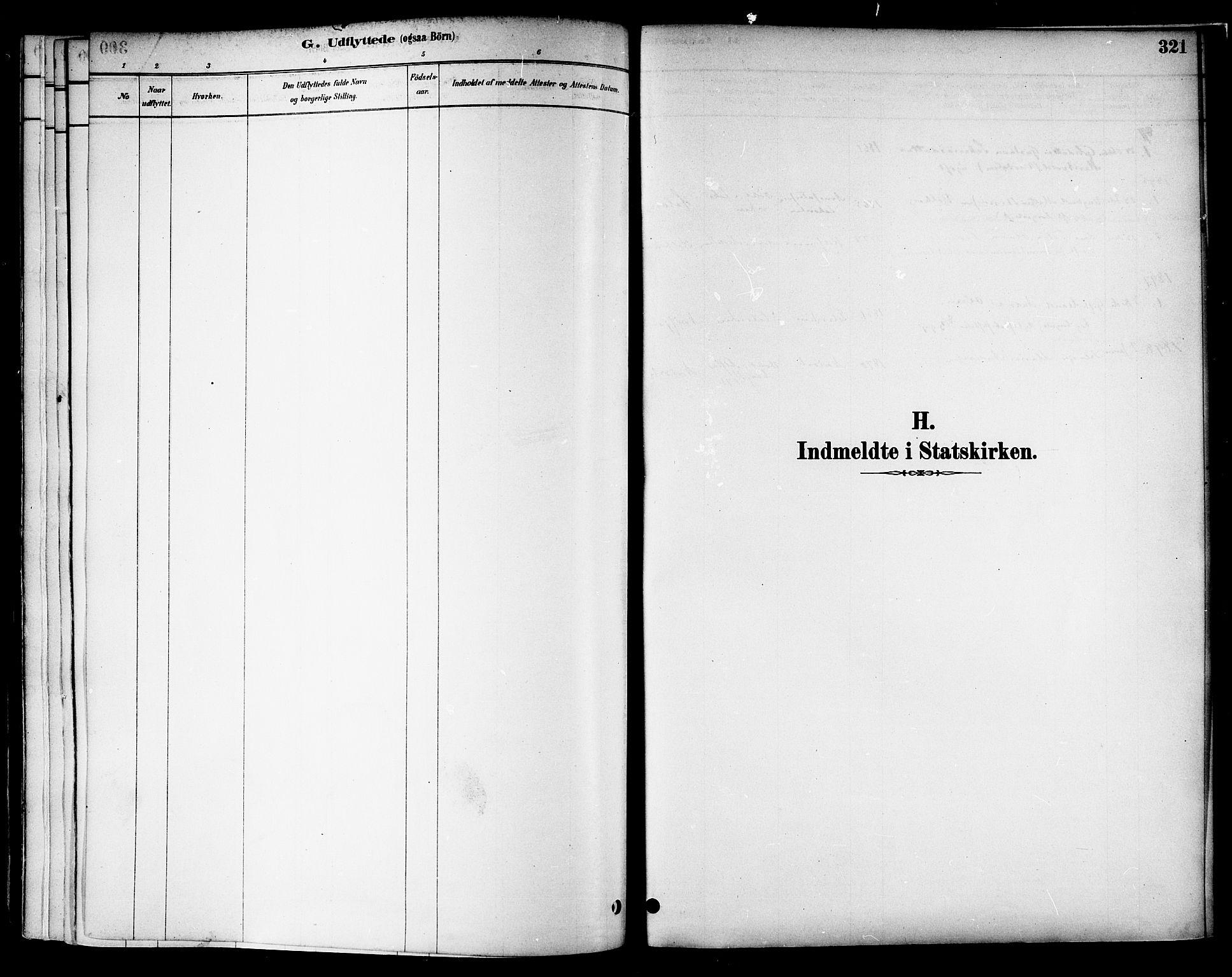 SAT, Ministerialprotokoller, klokkerbøker og fødselsregistre - Nord-Trøndelag, 717/L0159: Ministerialbok nr. 717A09, 1878-1898, s. 321