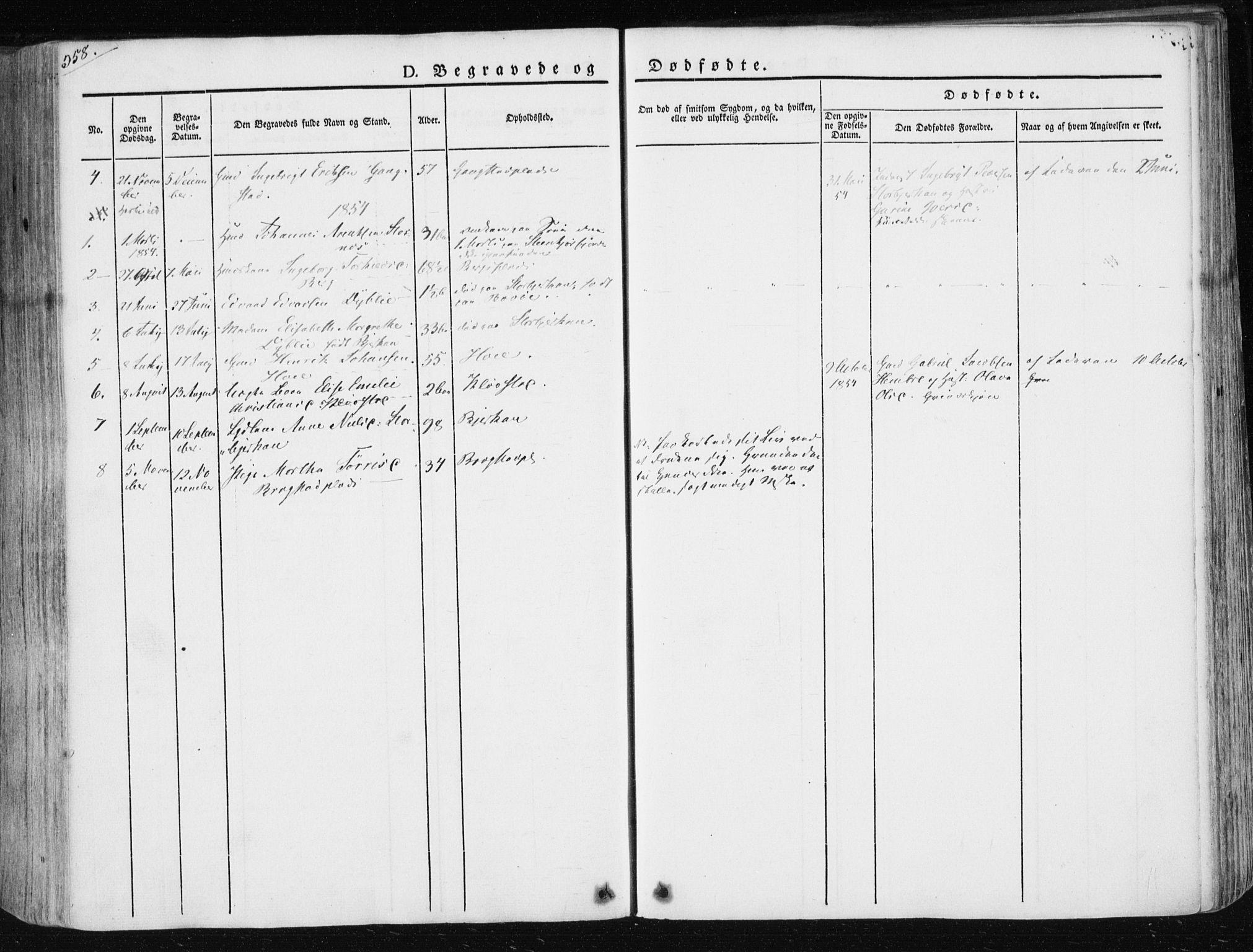 SAT, Ministerialprotokoller, klokkerbøker og fødselsregistre - Nord-Trøndelag, 730/L0280: Ministerialbok nr. 730A07 /3, 1840-1854, s. 358