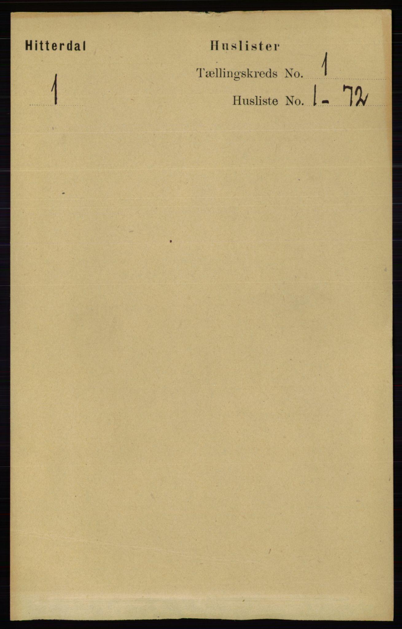 RA, Folketelling 1891 for 0823 Heddal herred, 1891, s. 25