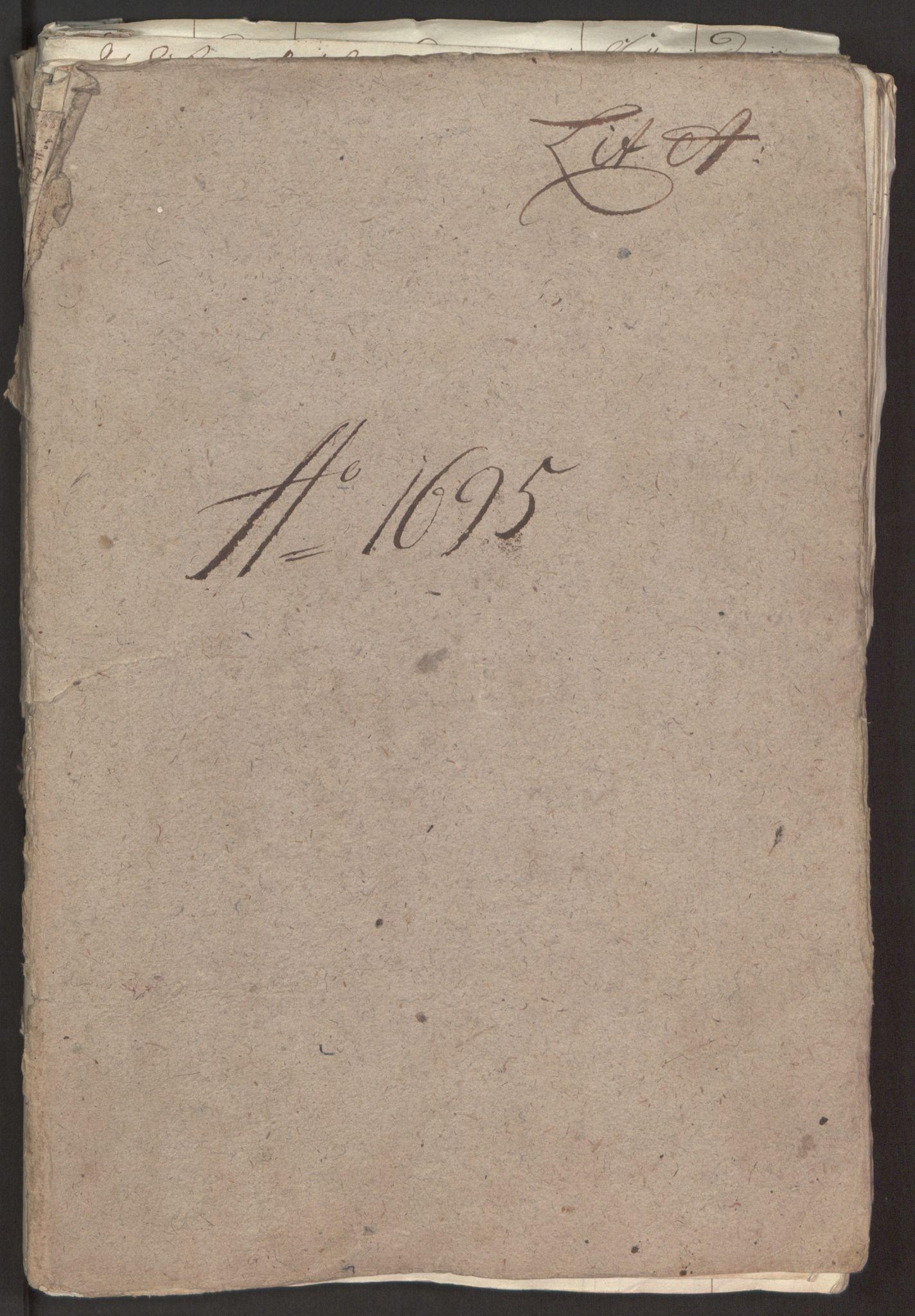 RA, Rentekammeret inntil 1814, Reviderte regnskaper, Fogderegnskap, R52/L3308: Fogderegnskap Sogn, 1695, s. 19