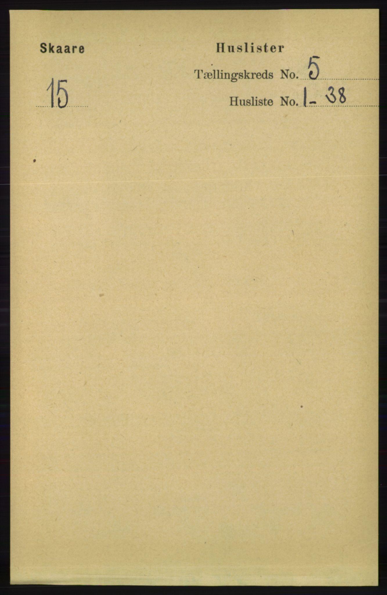 RA, Folketelling 1891 for 1153 Skåre herred, 1891, s. 2114