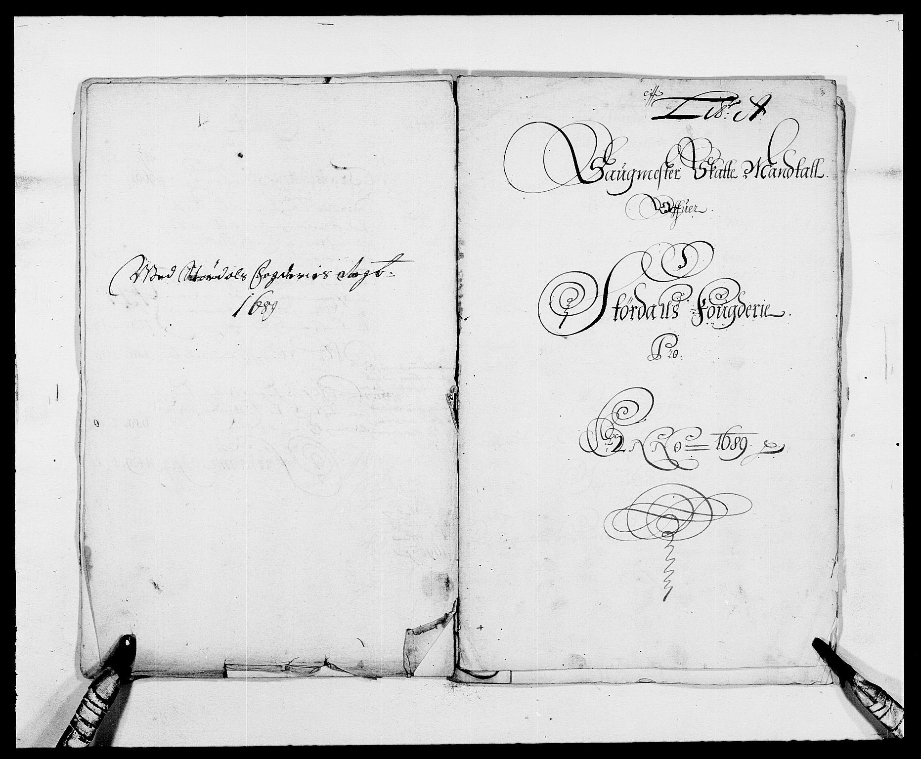RA, Rentekammeret inntil 1814, Reviderte regnskaper, Fogderegnskap, R62/L4183: Fogderegnskap Stjørdal og Verdal, 1687-1689, s. 309