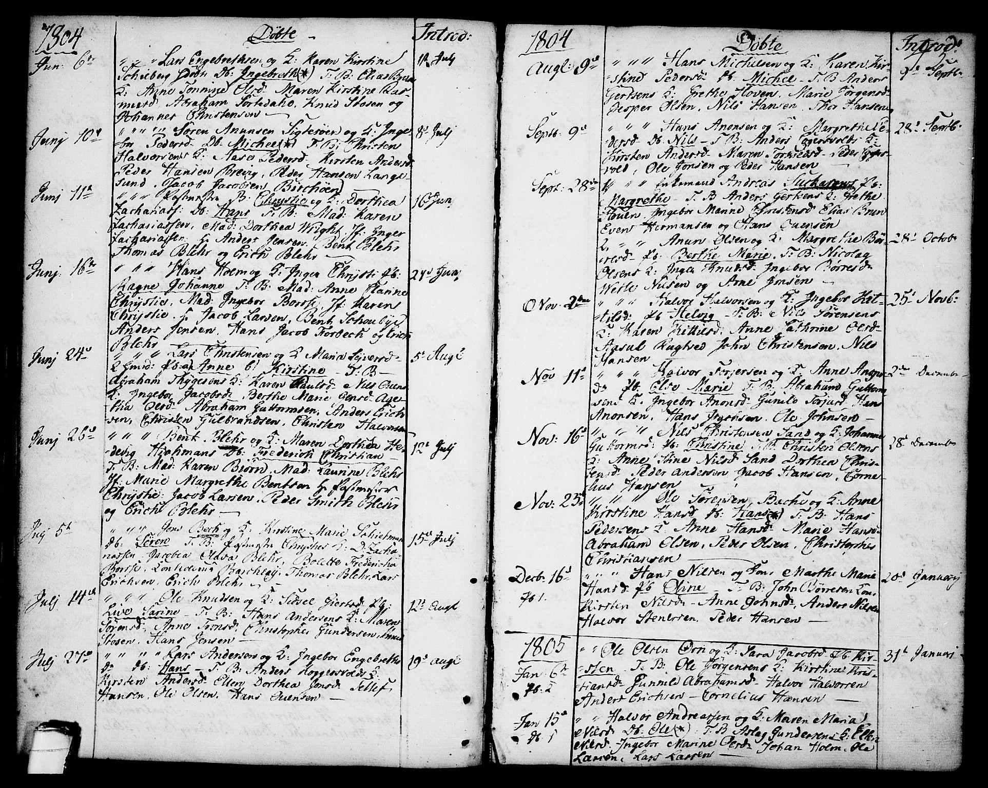 SAKO, Brevik kirkebøker, F/Fa/L0003: Ministerialbok nr. 3, 1764-1814, s. 45