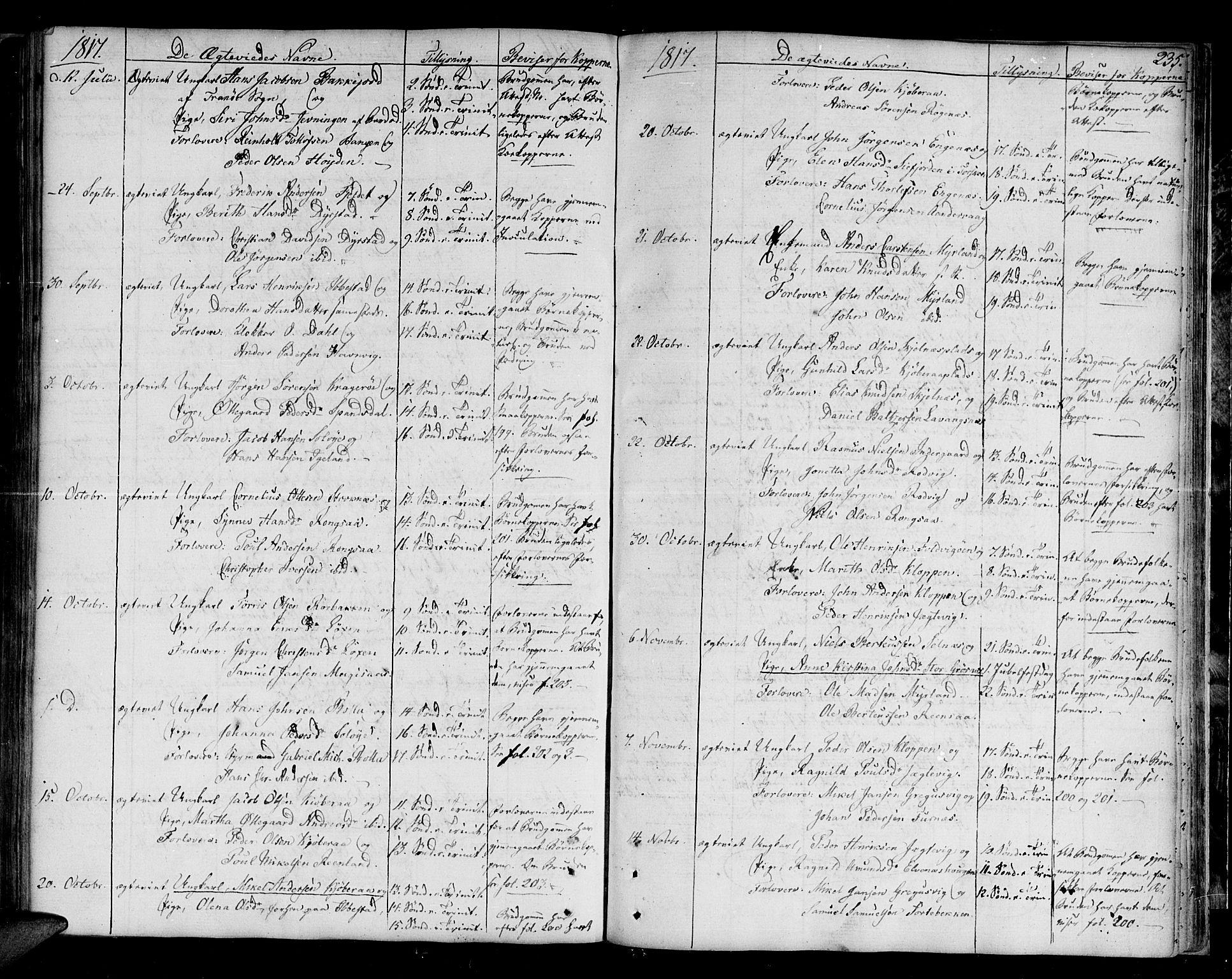 SATØ, Ibestad sokneprestembete, H/Ha/Haa/L0004kirke: Ministerialbok nr. 4, 1801-1824, s. 235