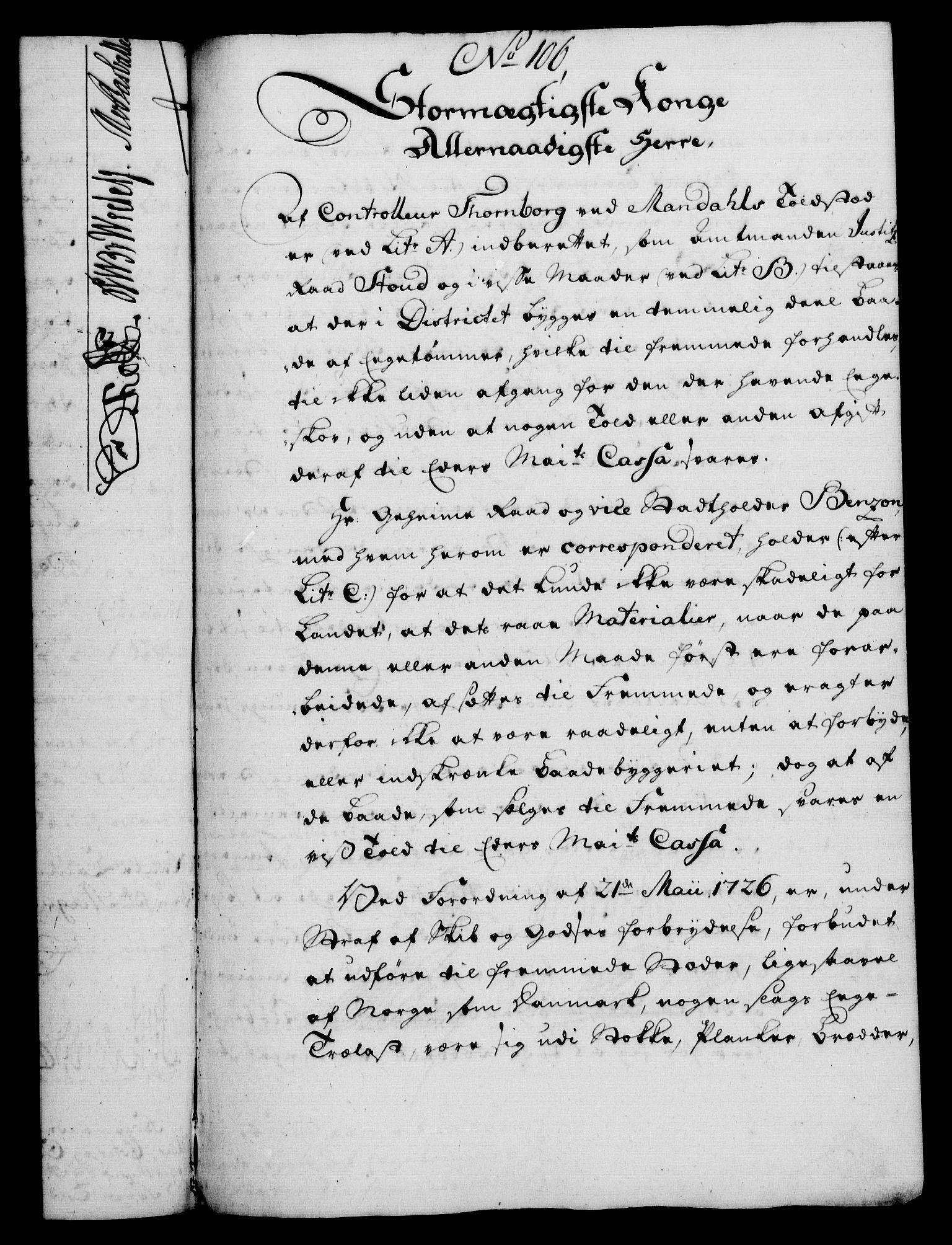 RA, Rentekammeret, Kammerkanselliet, G/Gf/Gfa/L0039: Norsk relasjons- og resolusjonsprotokoll (merket RK 52.39), 1757, s. 590