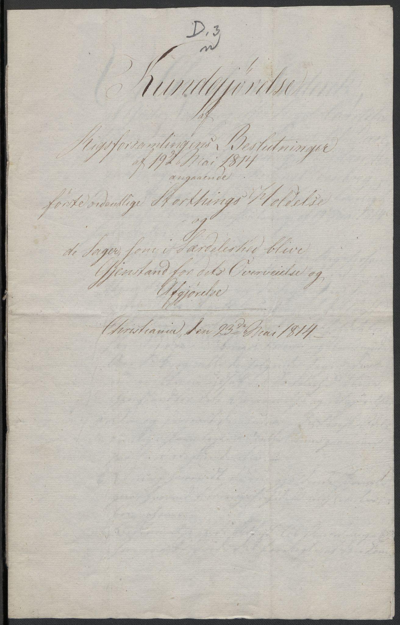 RA, Christie, Wilhelm Frimann Koren, F/L0004, 1814, s. 225
