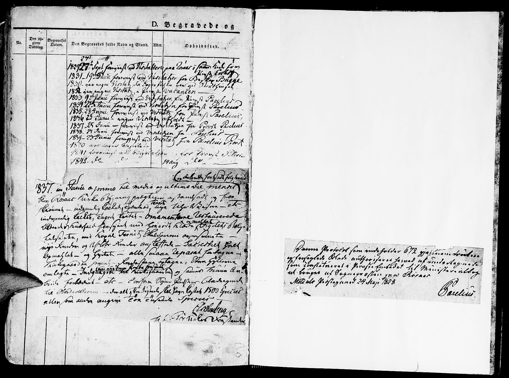 SAT, Ministerialprotokoller, klokkerbøker og fødselsregistre - Sør-Trøndelag, 681/L0930: Ministerialbok nr. 681A08, 1829-1844