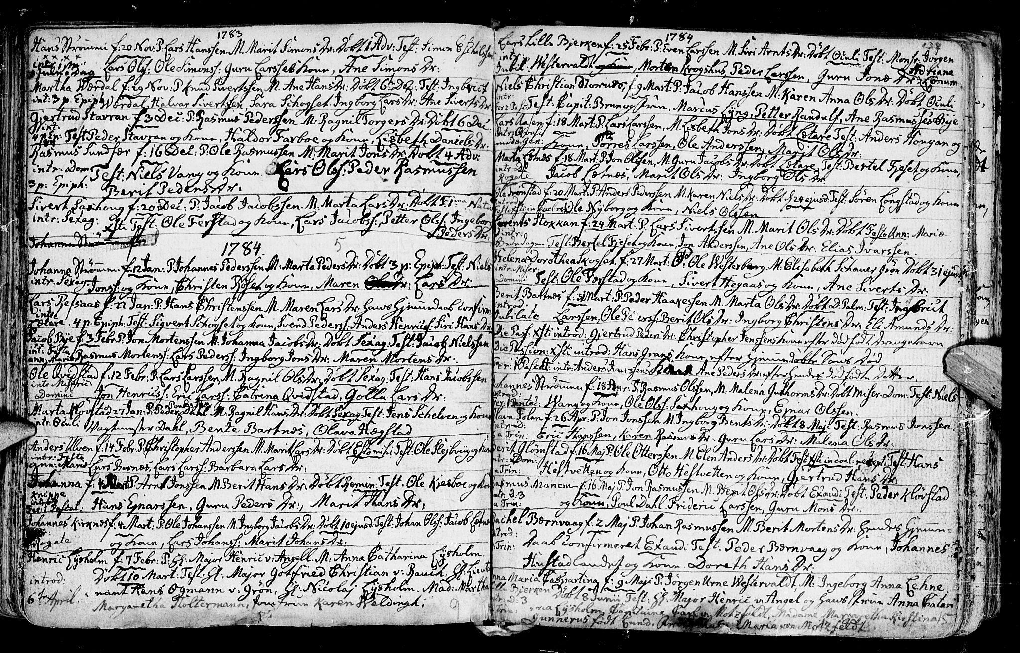 SAT, Ministerialprotokoller, klokkerbøker og fødselsregistre - Nord-Trøndelag, 730/L0273: Ministerialbok nr. 730A02, 1762-1802, s. 138