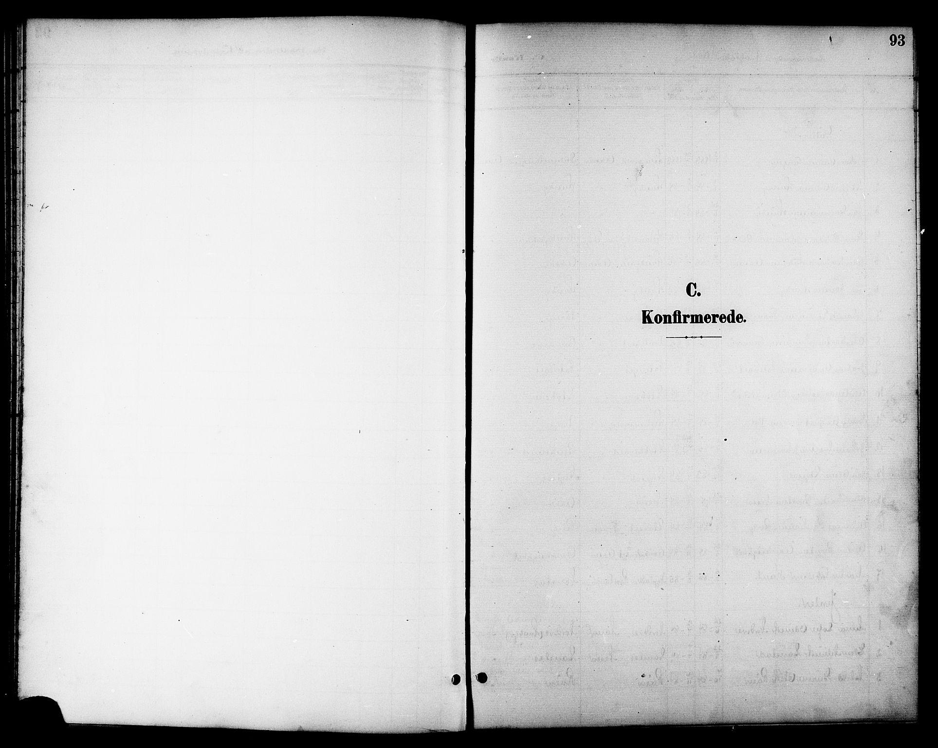 SAT, Ministerialprotokoller, klokkerbøker og fødselsregistre - Nord-Trøndelag, 714/L0135: Klokkerbok nr. 714C04, 1899-1918, s. 93