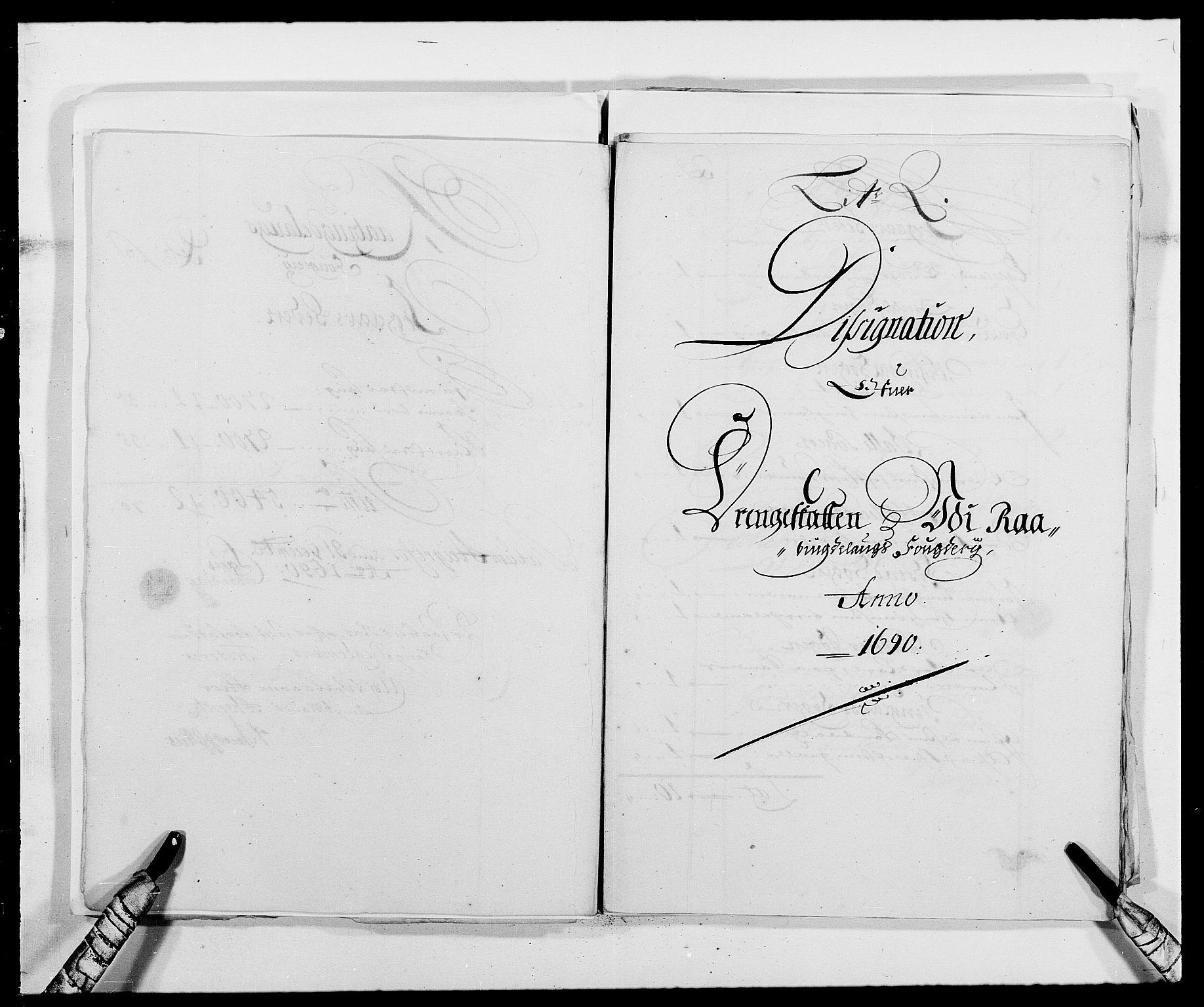 RA, Rentekammeret inntil 1814, Reviderte regnskaper, Fogderegnskap, R40/L2442: Fogderegnskap Råbyggelag, 1689-1690, s. 176