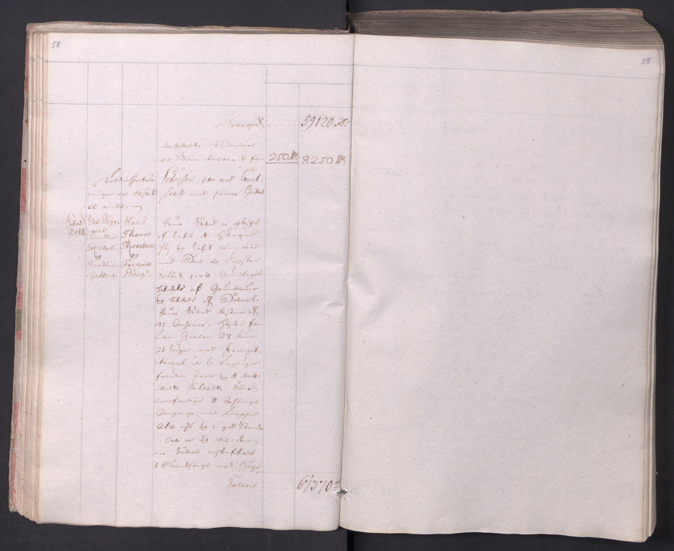 SAO, Kristiania stiftamt, I/Ia/L0015: Branntakster, 1797, s. 58