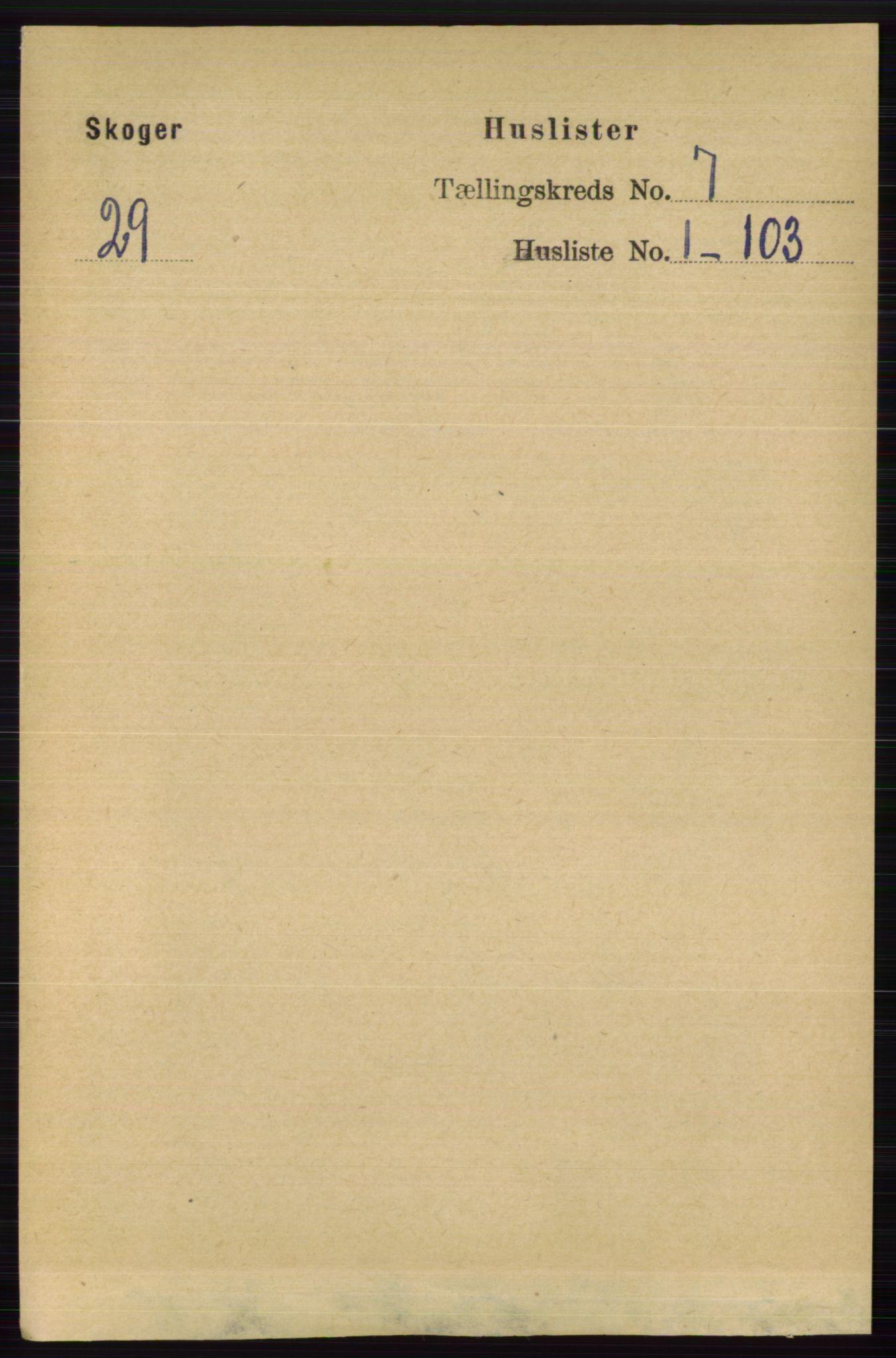 RA, Folketelling 1891 for 0712 Skoger herred, 1891, s. 3740