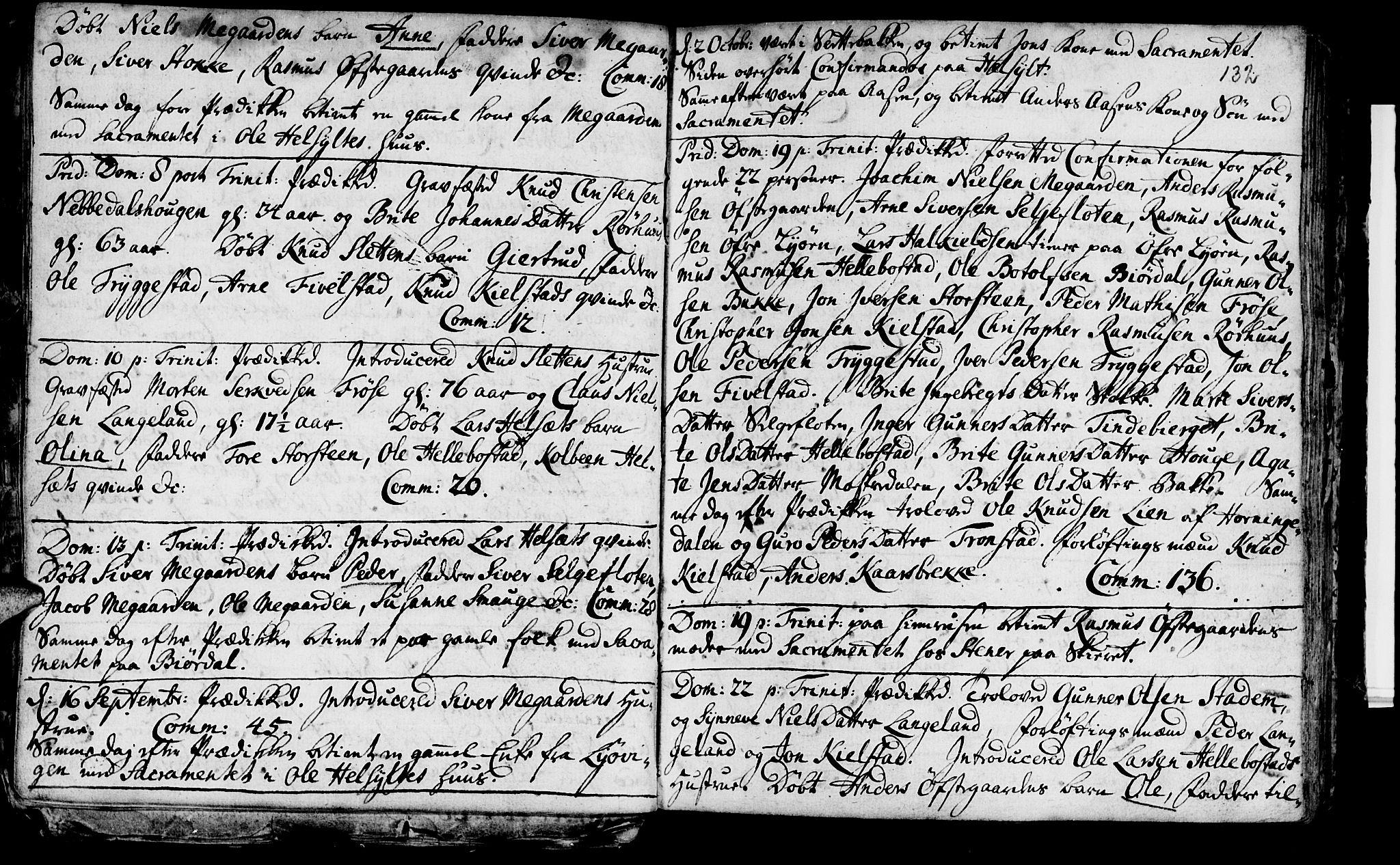 SAT, Ministerialprotokoller, klokkerbøker og fødselsregistre - Møre og Romsdal, 519/L0241: Ministerialbok nr. 519A01 /2, 1736-1760, s. 132