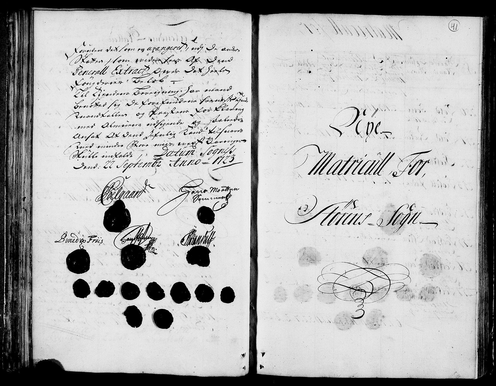 RA, Rentekammeret inntil 1814, Realistisk ordnet avdeling, N/Nb/Nbf/L0159: Gauldal matrikkelprotokoll, 1723, s. 40b-41a