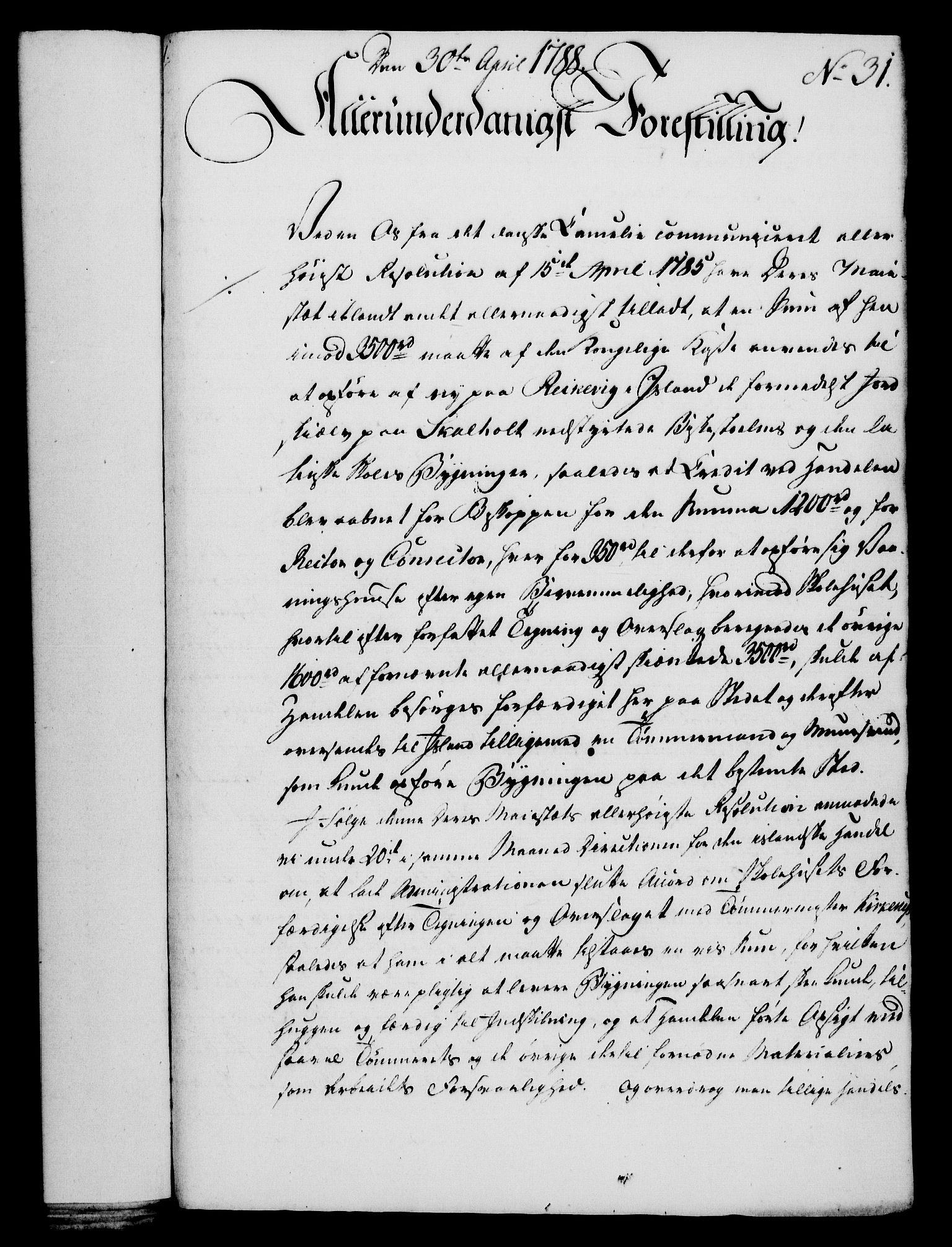 RA, Rentekammeret, Kammerkanselliet, G/Gf/Gfa/L0070: Norsk relasjons- og resolusjonsprotokoll (merket RK 52.70), 1788, s. 179
