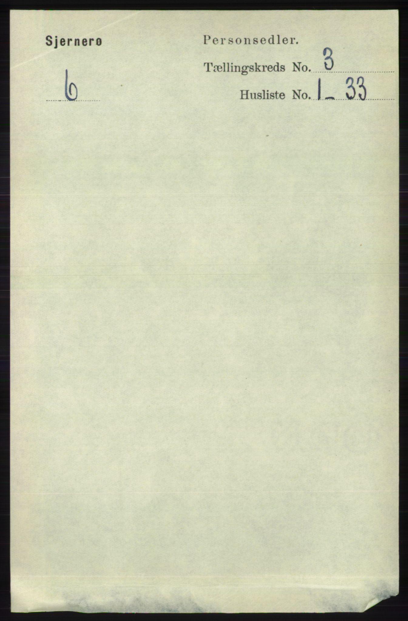 RA, Folketelling 1891 for 1140 Sjernarøy herred, 1891, s. 391