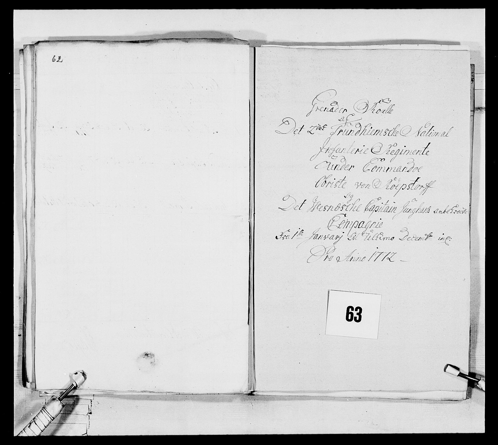RA, Generalitets- og kommissariatskollegiet, Det kongelige norske kommissariatskollegium, E/Eh/L0076: 2. Trondheimske nasjonale infanteriregiment, 1766-1773, s. 220