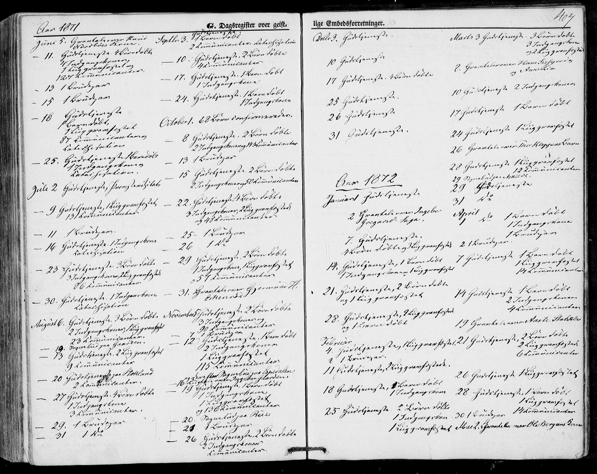 SAKO, Bø kirkebøker, F/Fa/L0009: Ministerialbok nr. 9, 1862-1879, s. 407