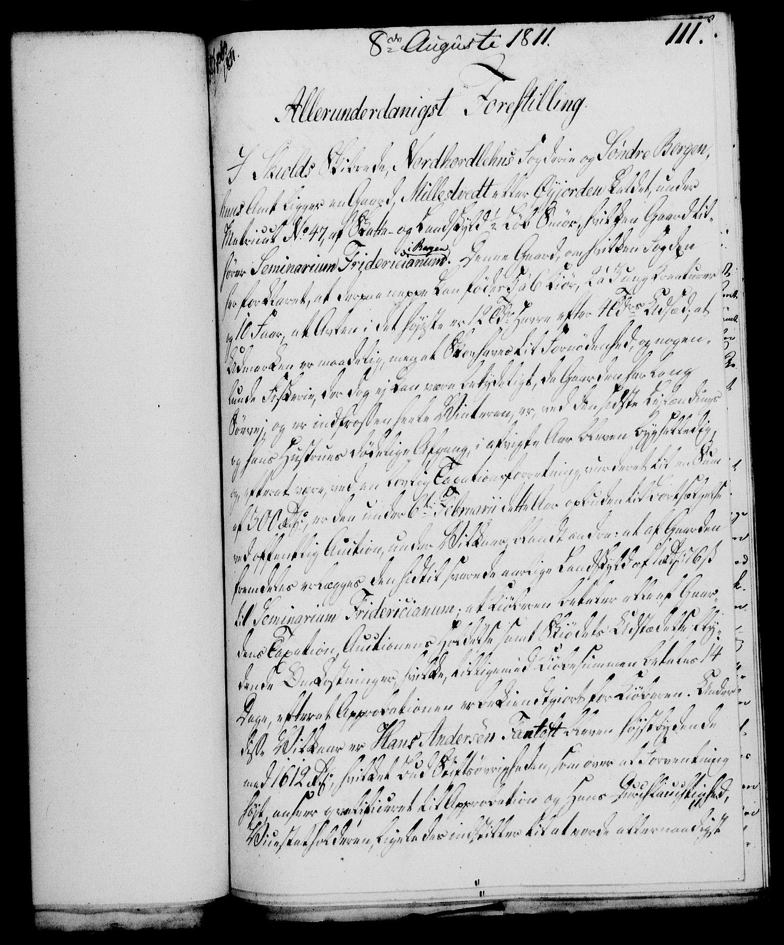 RA, Rentekammeret, Kammerkanselliet, G/Gf/Gfa/L0093: Norsk relasjons- og resolusjonsprotokoll (merket RK 52.93), 1811, s. 458