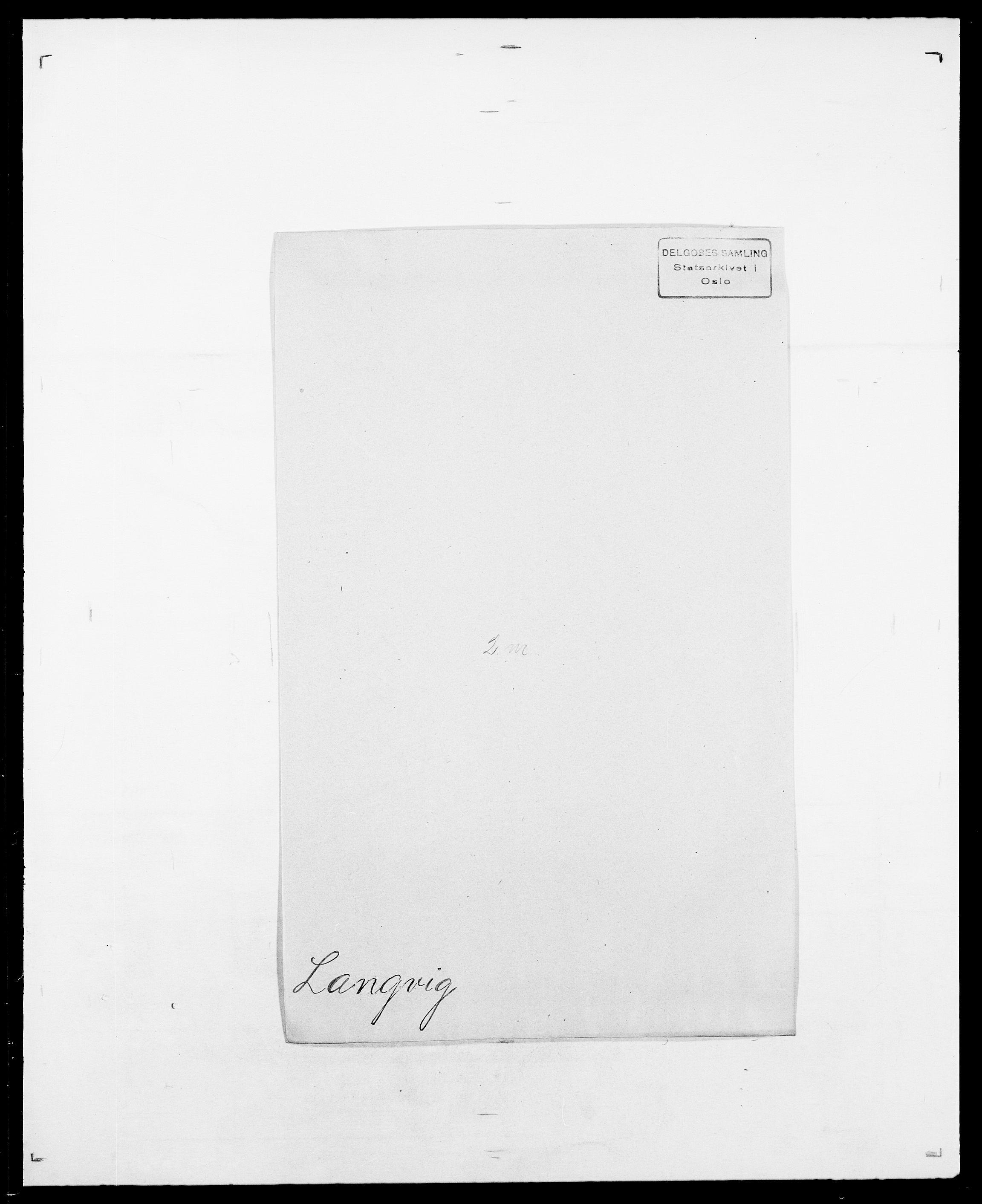 SAO, Delgobe, Charles Antoine - samling, D/Da/L0022: Krog - Lasteen, s. 714