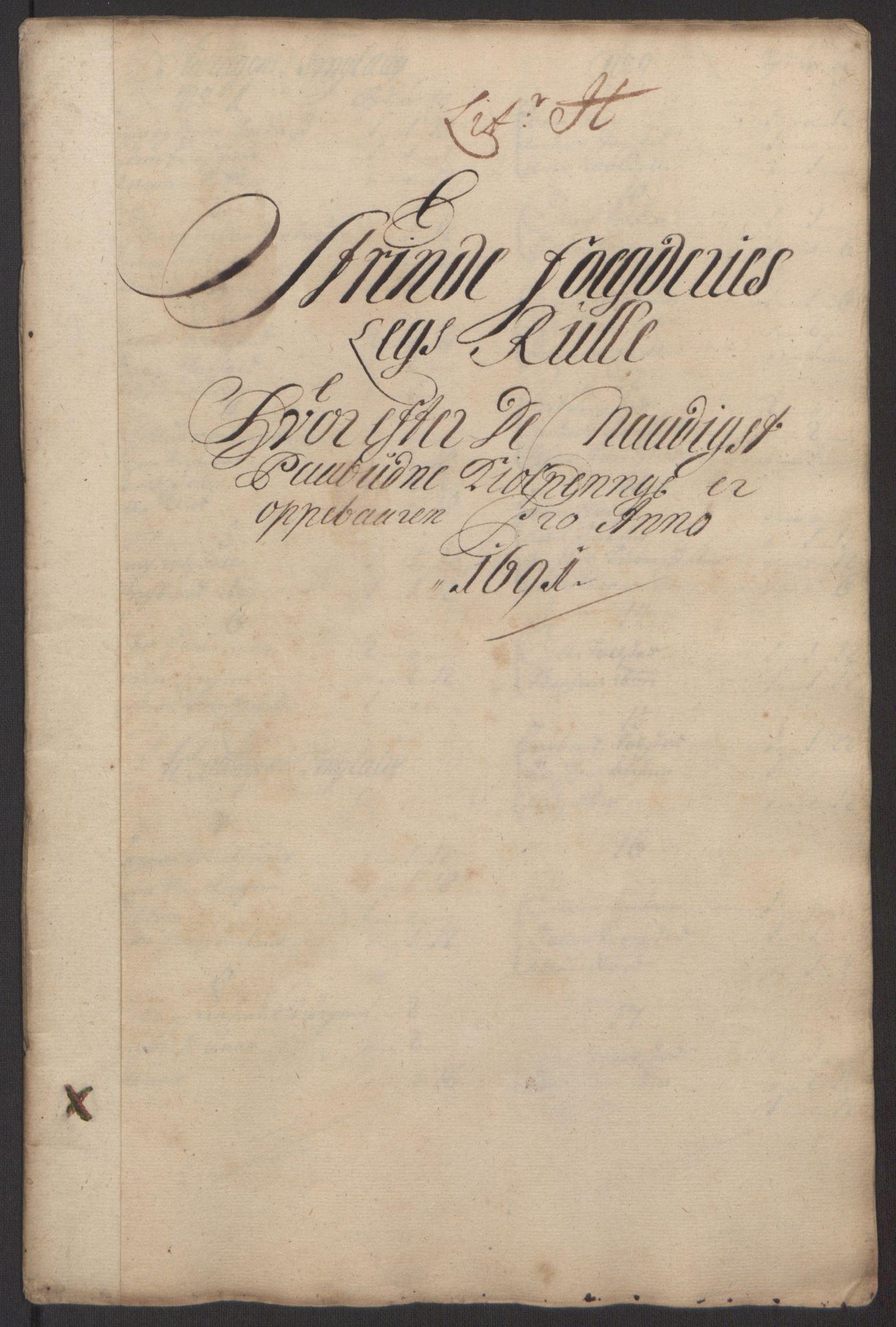 RA, Rentekammeret inntil 1814, Reviderte regnskaper, Fogderegnskap, R61/L4103: Fogderegnskap Strinda og Selbu, 1691-1692, s. 81