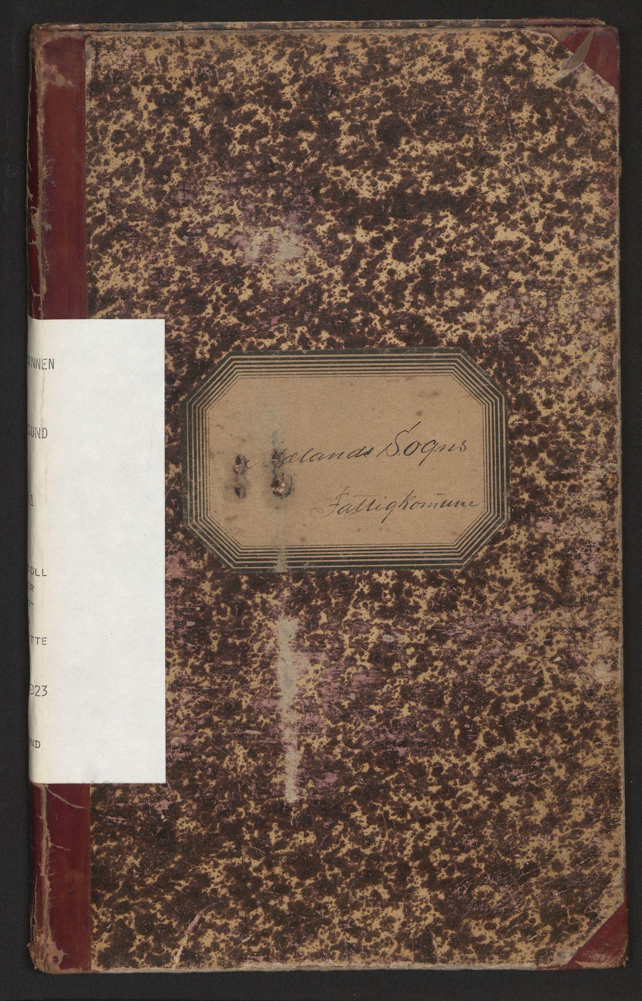 SAB, Lensmannen i Alversund, 0020/L0001: Protokoll over inn- og utflytte, Meland, 1901-1923