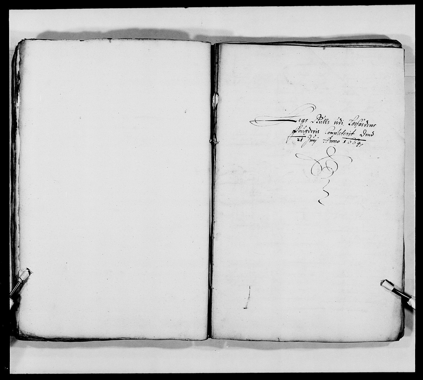 RA, Kommanderende general (KG I) med Det norske krigsdirektorium, E/Ea/L0473: Marineregimentet, 1664-1700, s. 35
