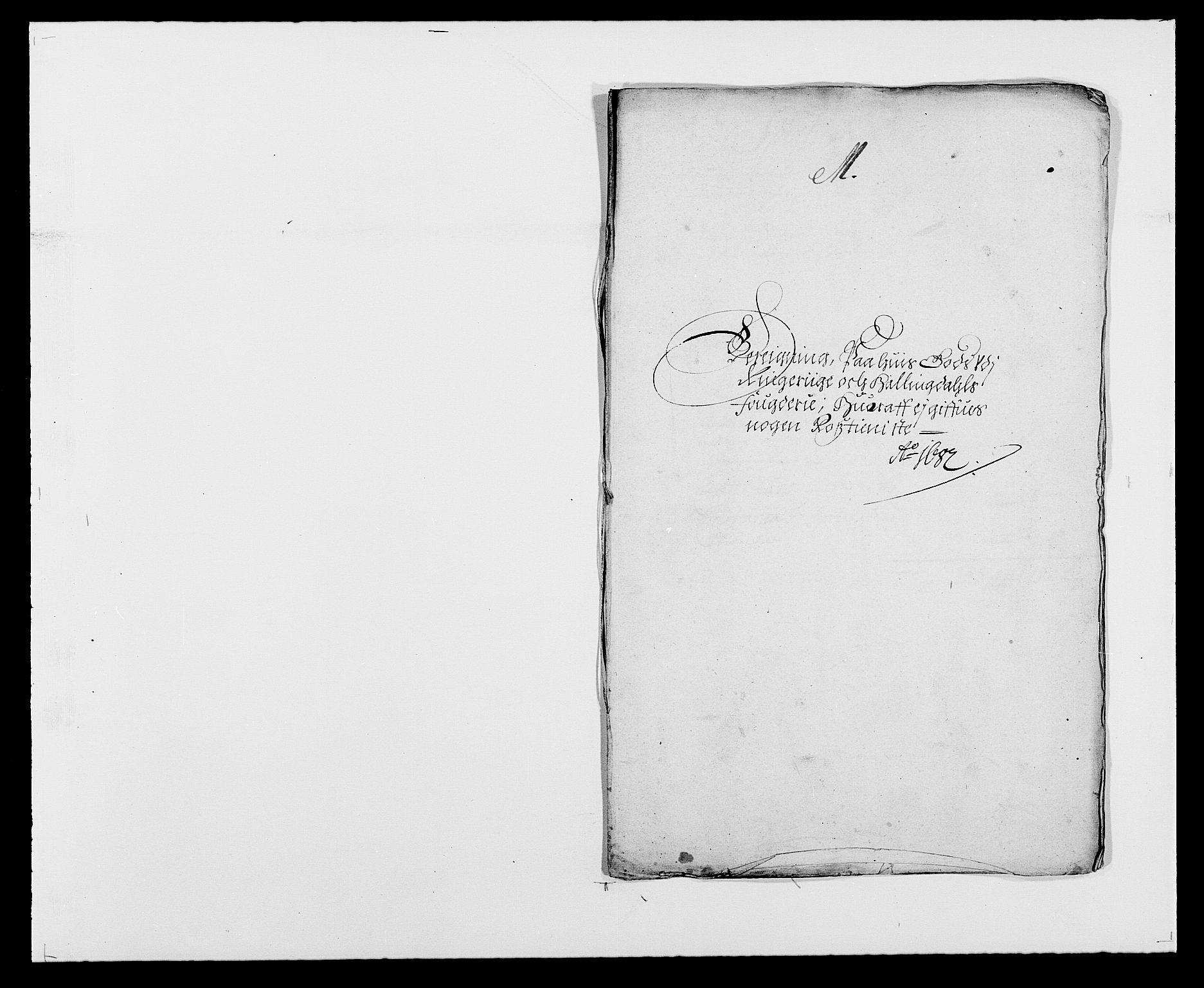 RA, Rentekammeret inntil 1814, Reviderte regnskaper, Fogderegnskap, R21/L1445: Fogderegnskap Ringerike og Hallingdal, 1681-1689, s. 417