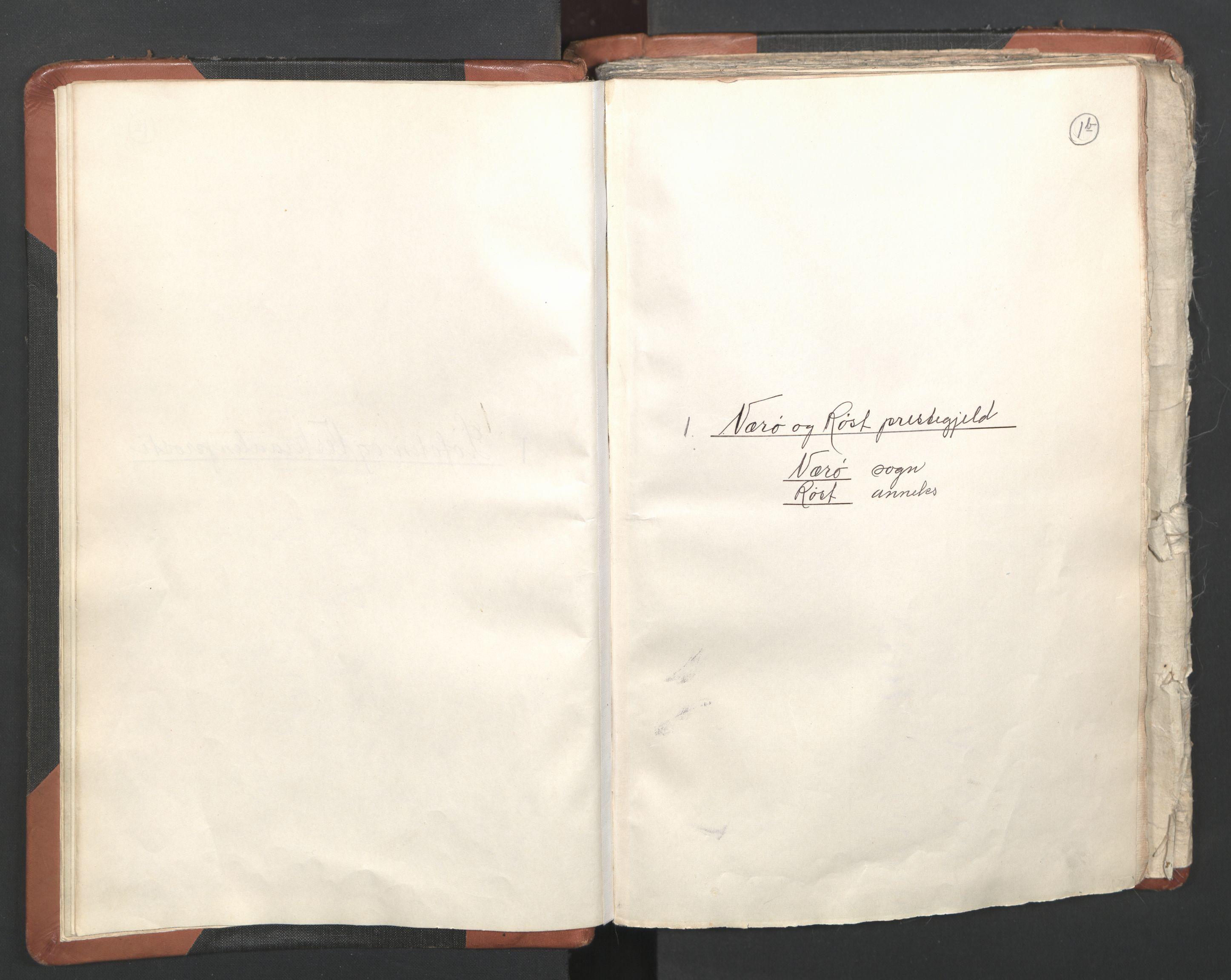 RA, Sogneprestenes manntall 1664-1666, nr. 36: Lofoten og Vesterålen prosti, Senja prosti og Troms prosti, 1664-1666, s. 1