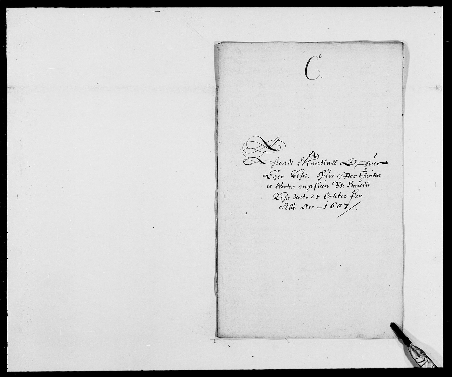 RA, Rentekammeret inntil 1814, Reviderte regnskaper, Fogderegnskap, R28/L1688: Fogderegnskap Eiker og Lier, 1687-1689, s. 20