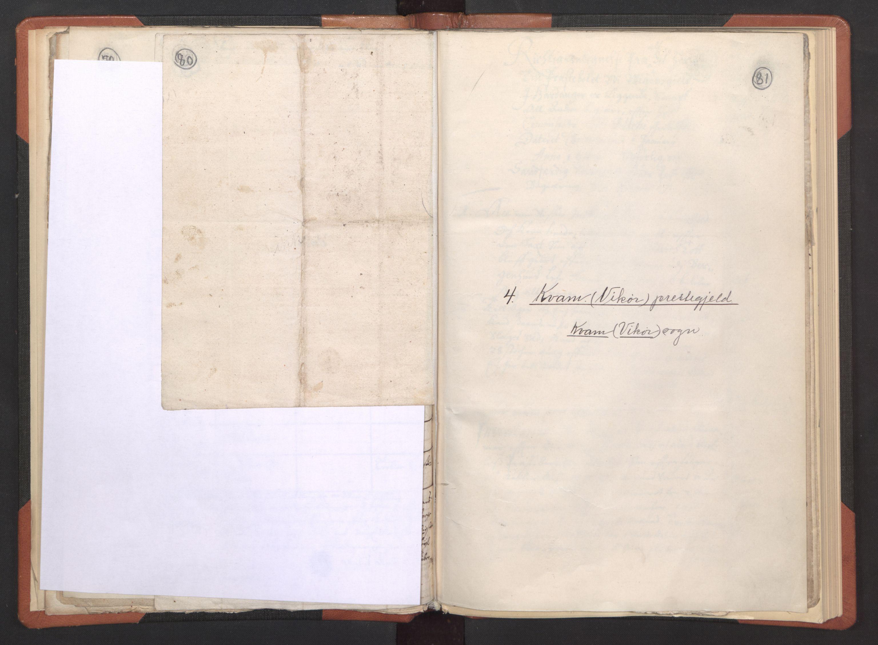 RA, Sogneprestenes manntall 1664-1666, nr. 21: Hardanger prosti, 1664-1666, s. 80-81