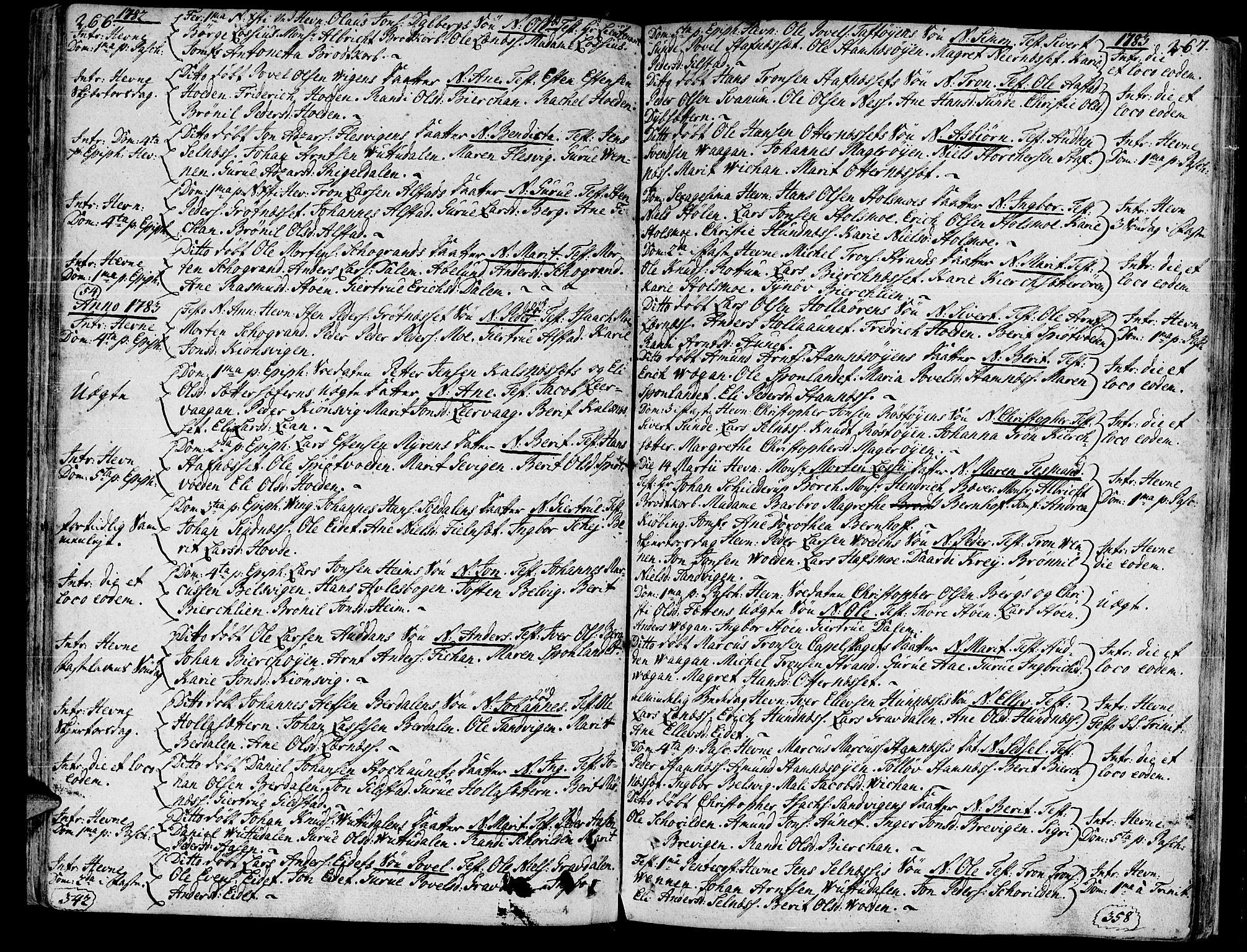 SAT, Ministerialprotokoller, klokkerbøker og fødselsregistre - Sør-Trøndelag, 630/L0489: Ministerialbok nr. 630A02, 1757-1794, s. 266-267