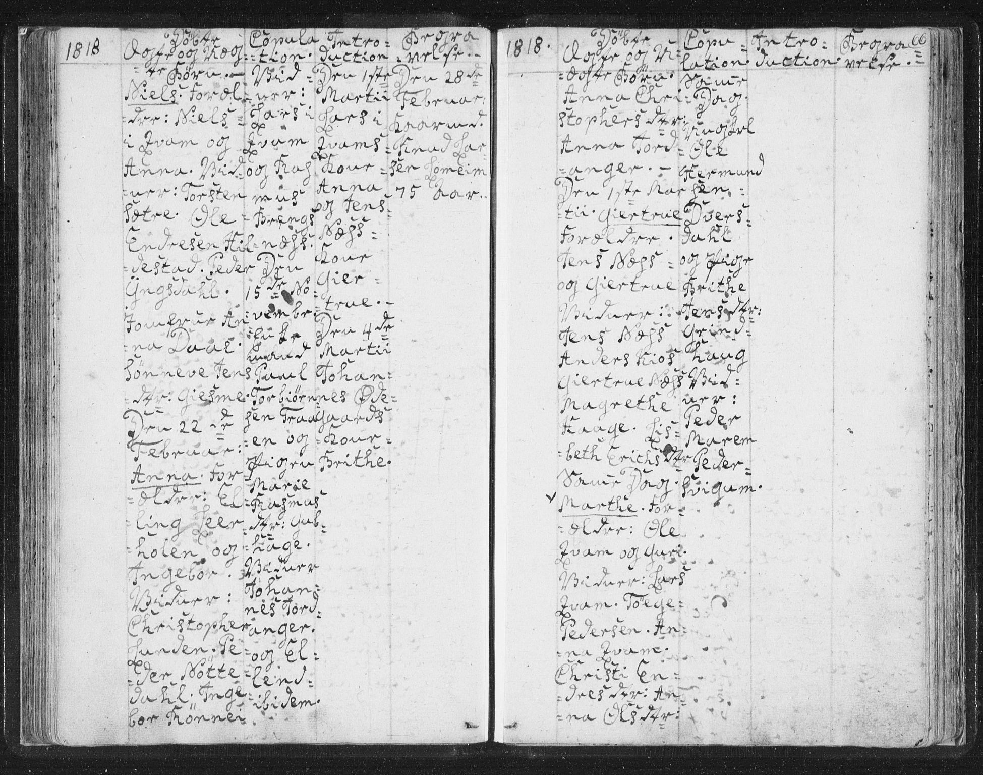 SAB, Hafslo sokneprestembete, H/Haa/Haaa/L0003: Ministerialbok nr. A 3, 1807-1821, s. 66