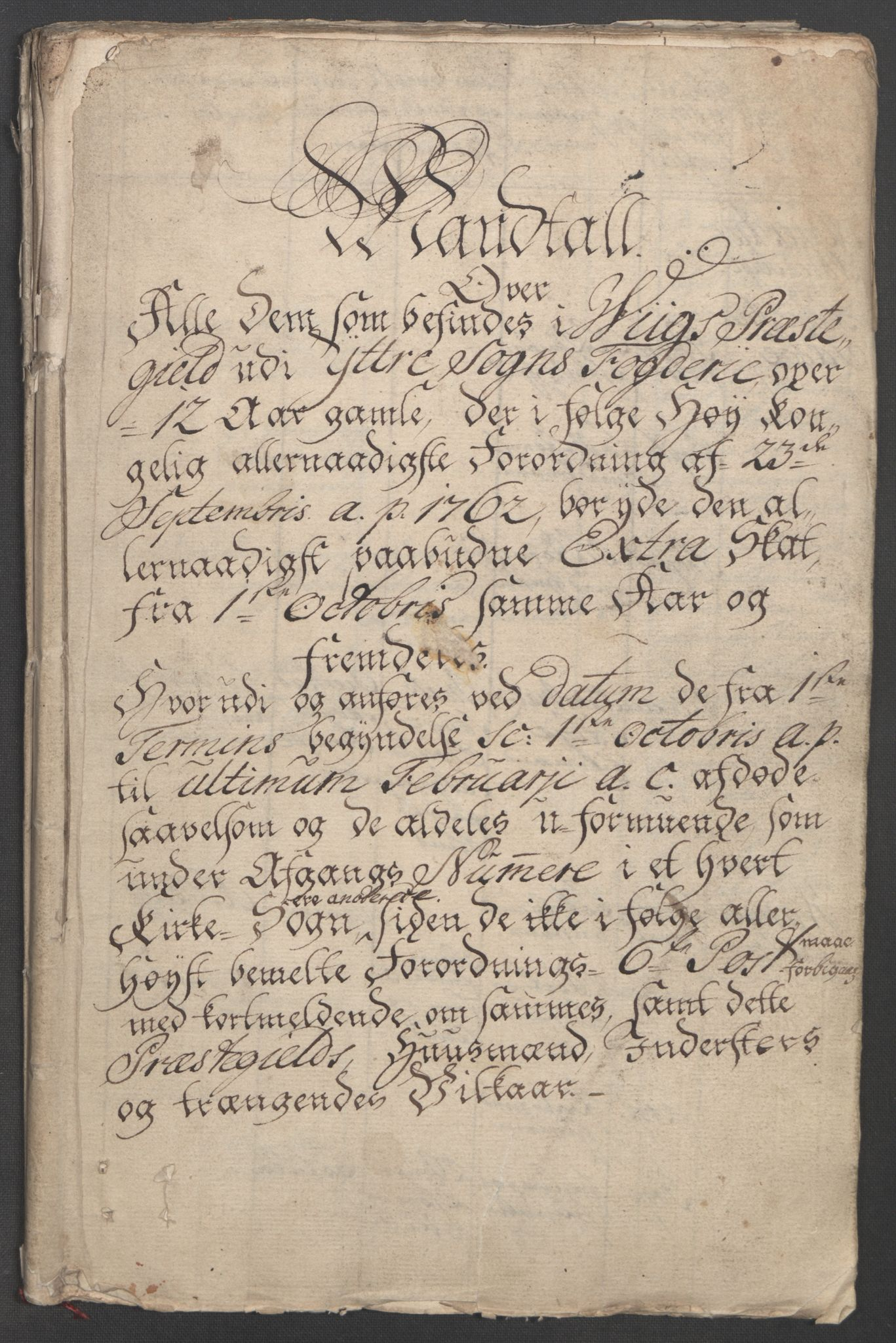 RA, Rentekammeret inntil 1814, Reviderte regnskaper, Fogderegnskap, R52/L3418: Ekstraskatten Sogn, 1762-1769, s. 254