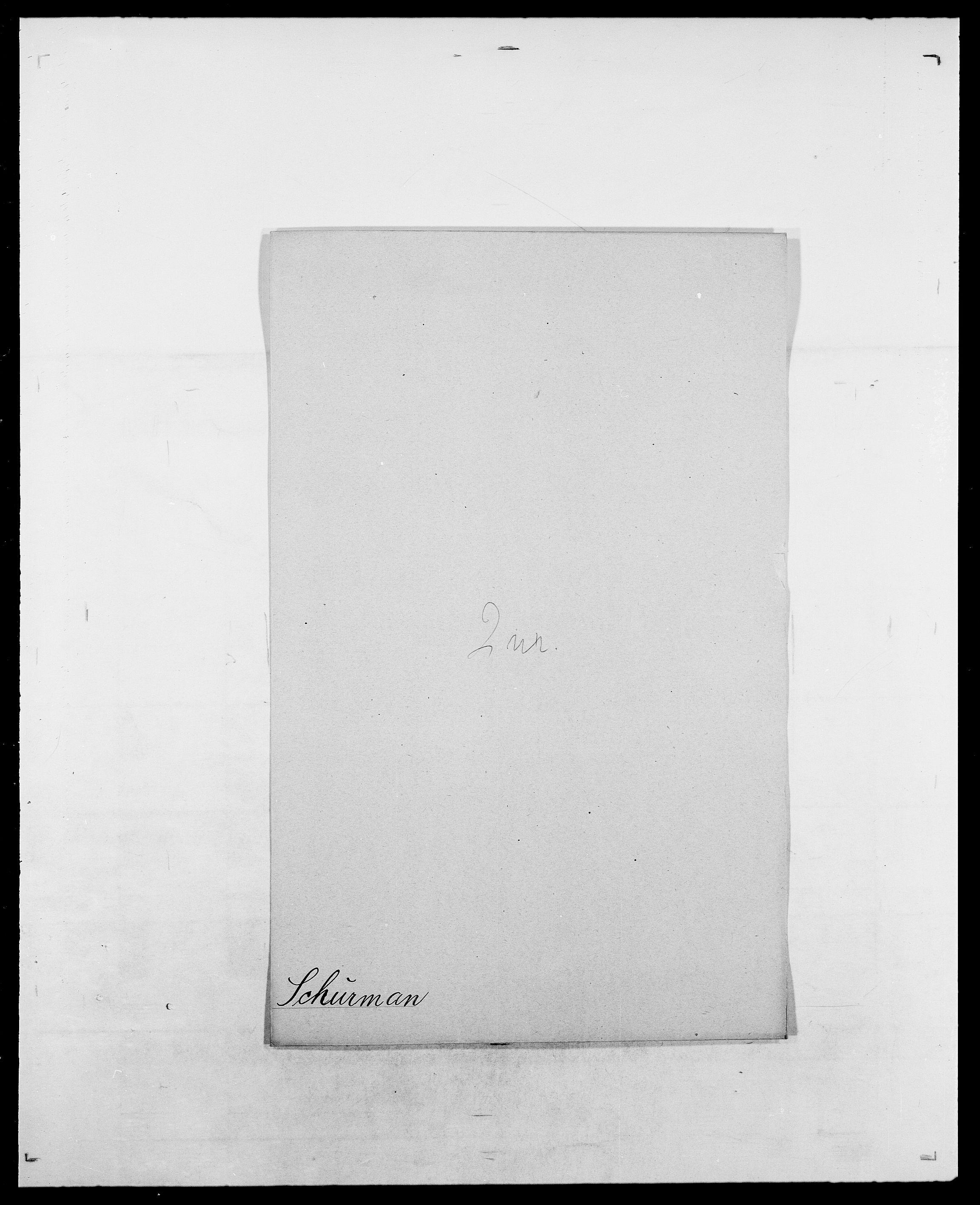 SAO, Delgobe, Charles Antoine - samling, D/Da/L0035: Schnabel - sjetman, s. 359
