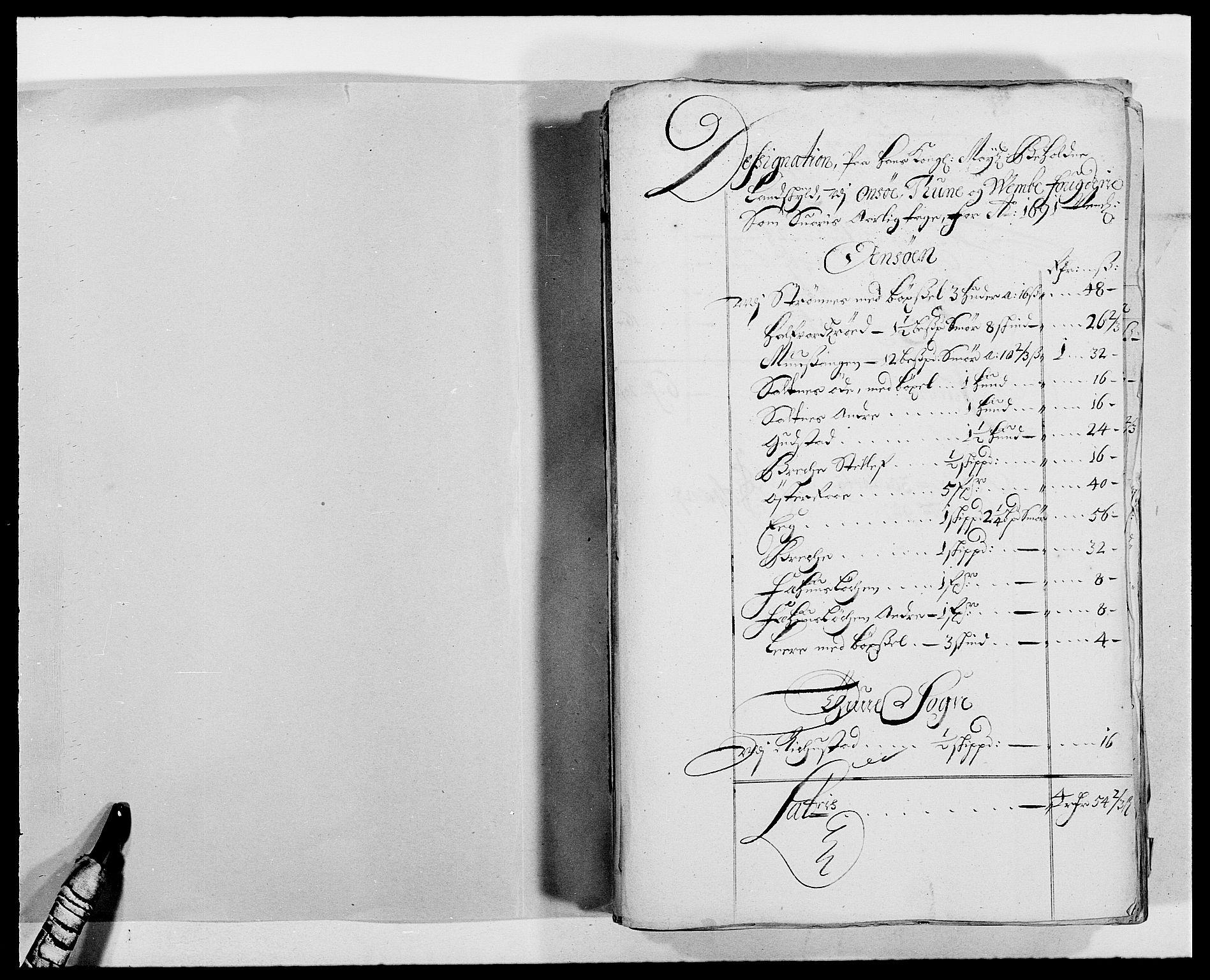 RA, Rentekammeret inntil 1814, Reviderte regnskaper, Fogderegnskap, R03/L0119: Fogderegnskap Onsøy, Tune, Veme og Åbygge fogderi, 1690-1691, s. 279