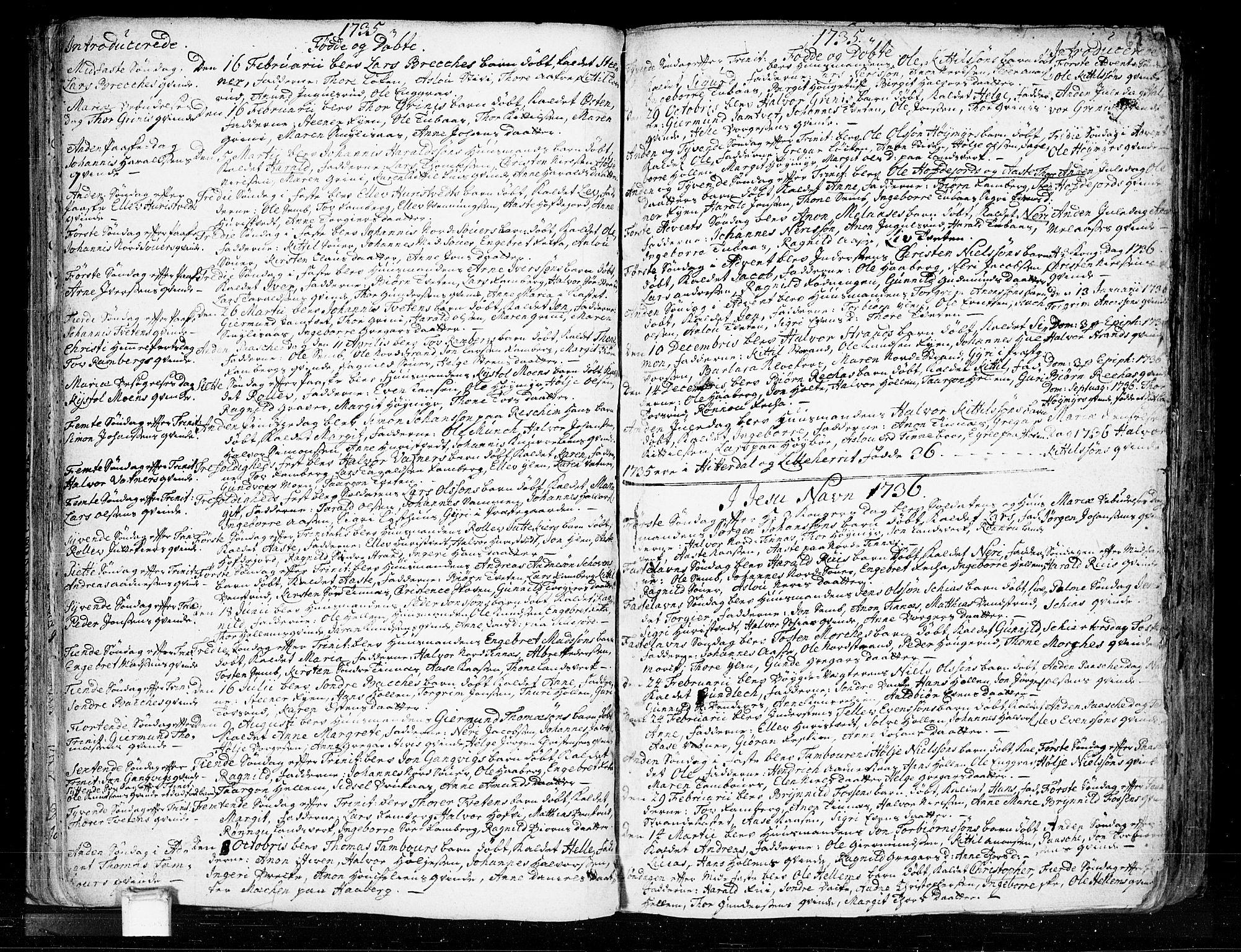 SAKO, Heddal kirkebøker, F/Fa/L0003: Ministerialbok nr. I 3, 1723-1783, s. 67