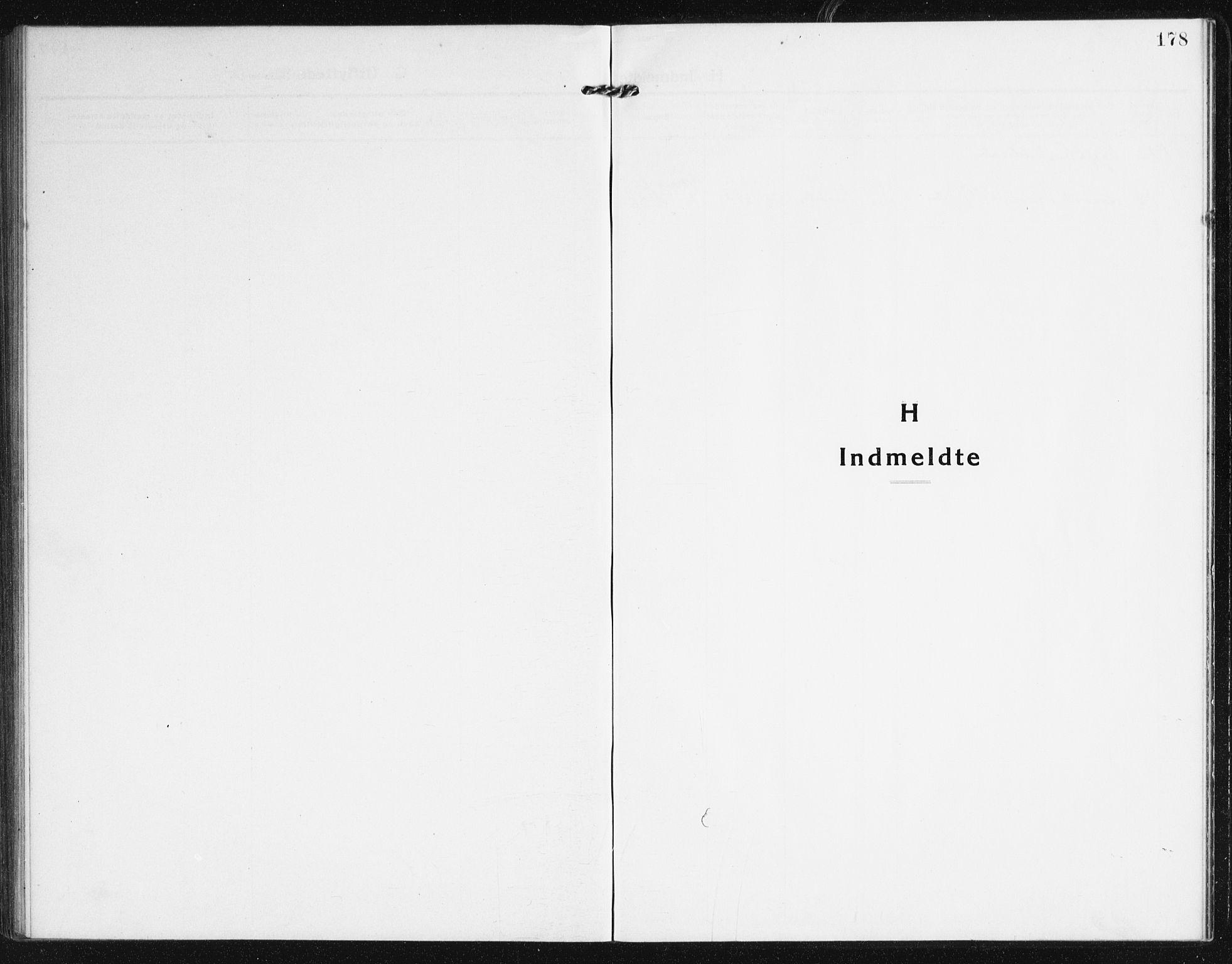SAK, Valle sokneprestkontor, F/Fb/Fba/L0004: Klokkerbok nr. B 4, 1917-1944, s. 178