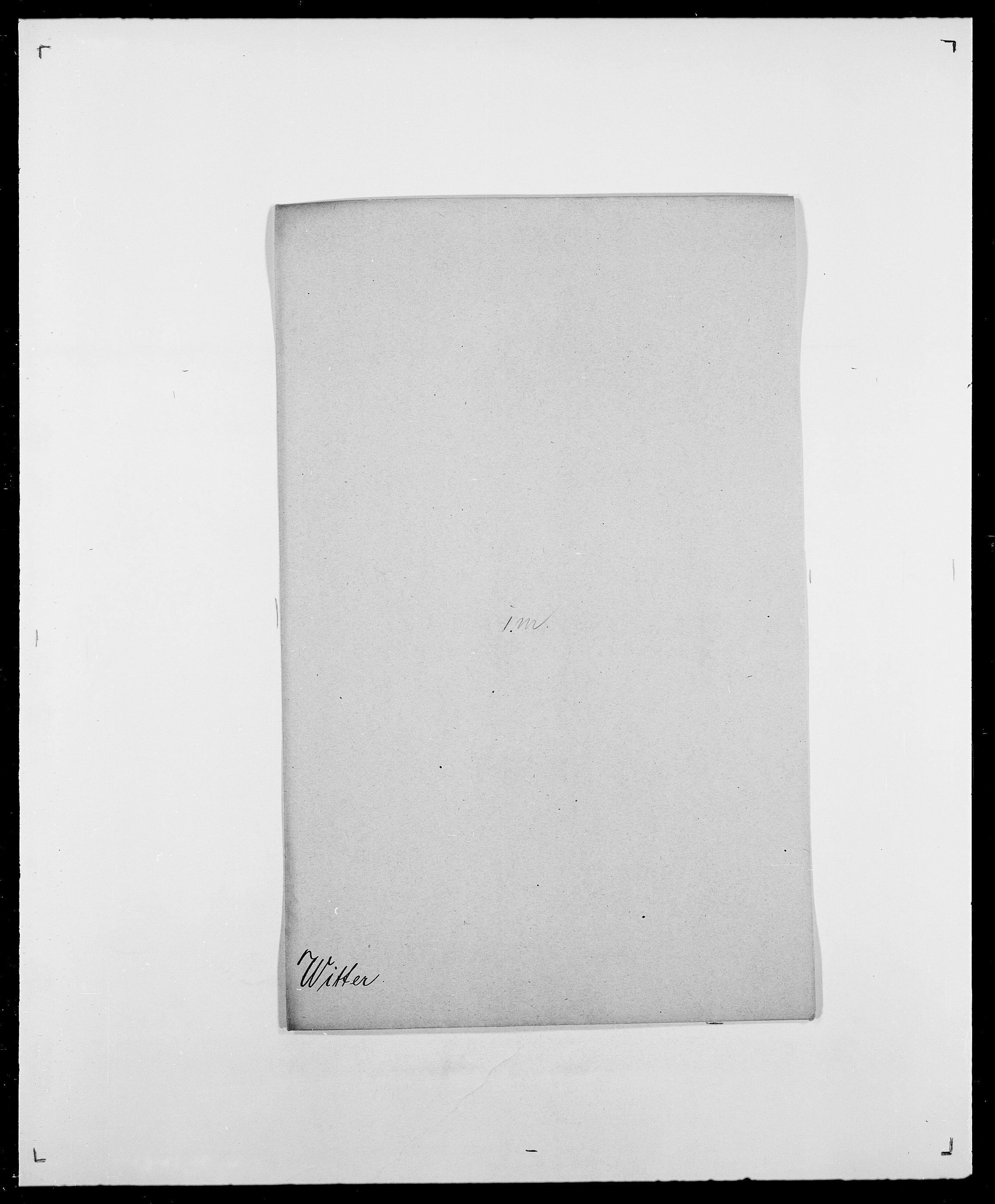 SAO, Delgobe, Charles Antoine - samling, D/Da/L0042: Vilain - Wulf, Wulff, se også Wolf, s. 492